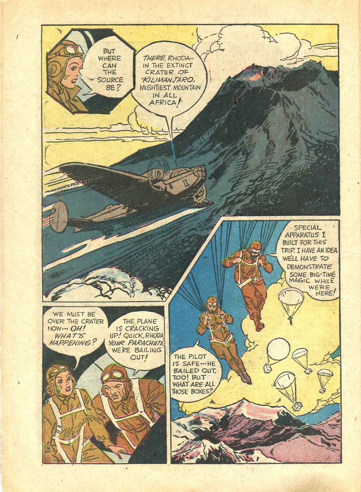Read online Super-Magician Comics comic -  Issue #21 - 18
