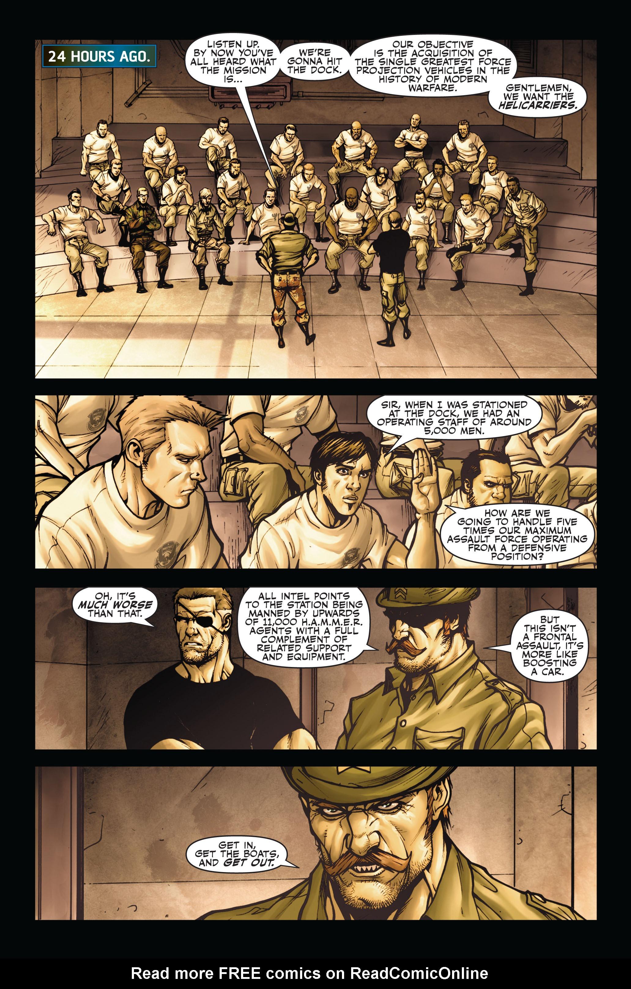 Read online Secret Warriors comic -  Issue #5 - 8