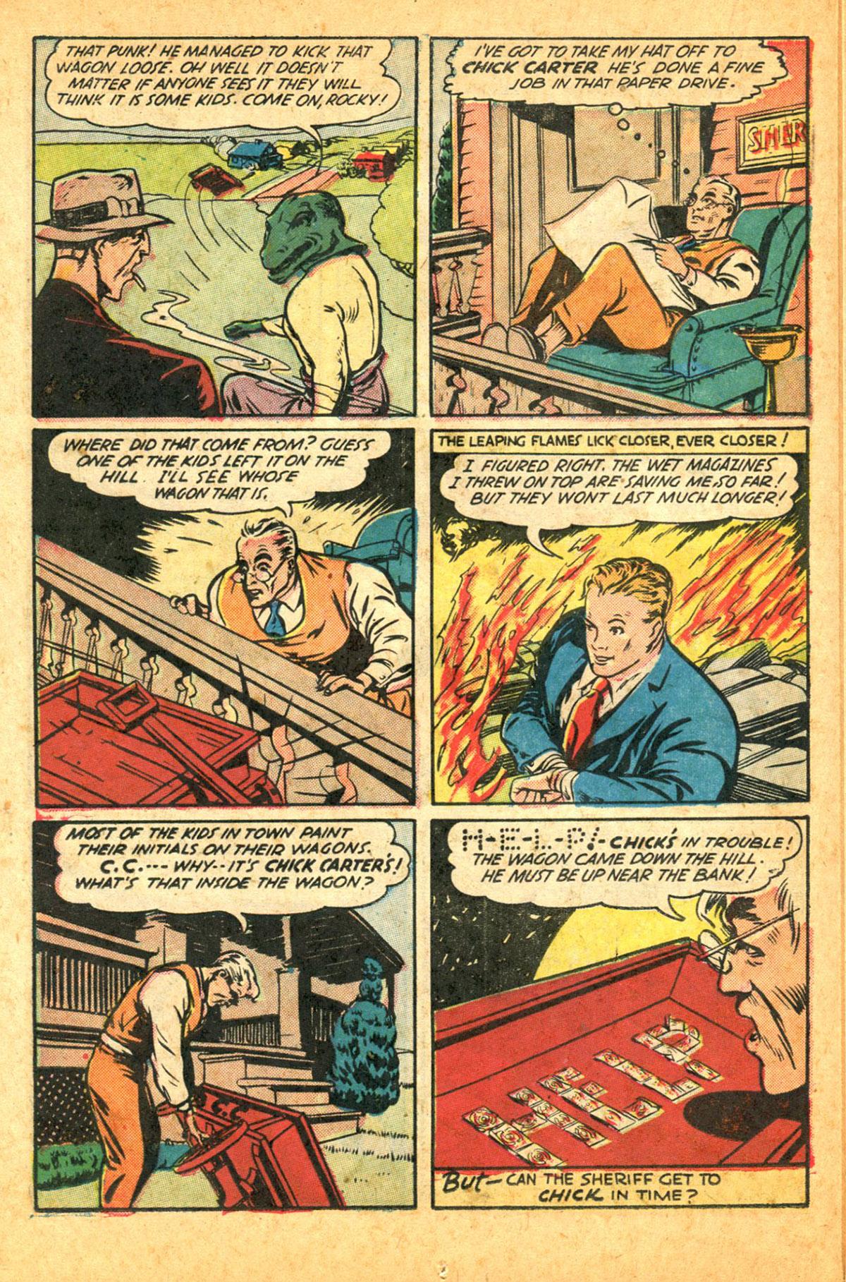 Read online Shadow Comics comic -  Issue #38 - 32