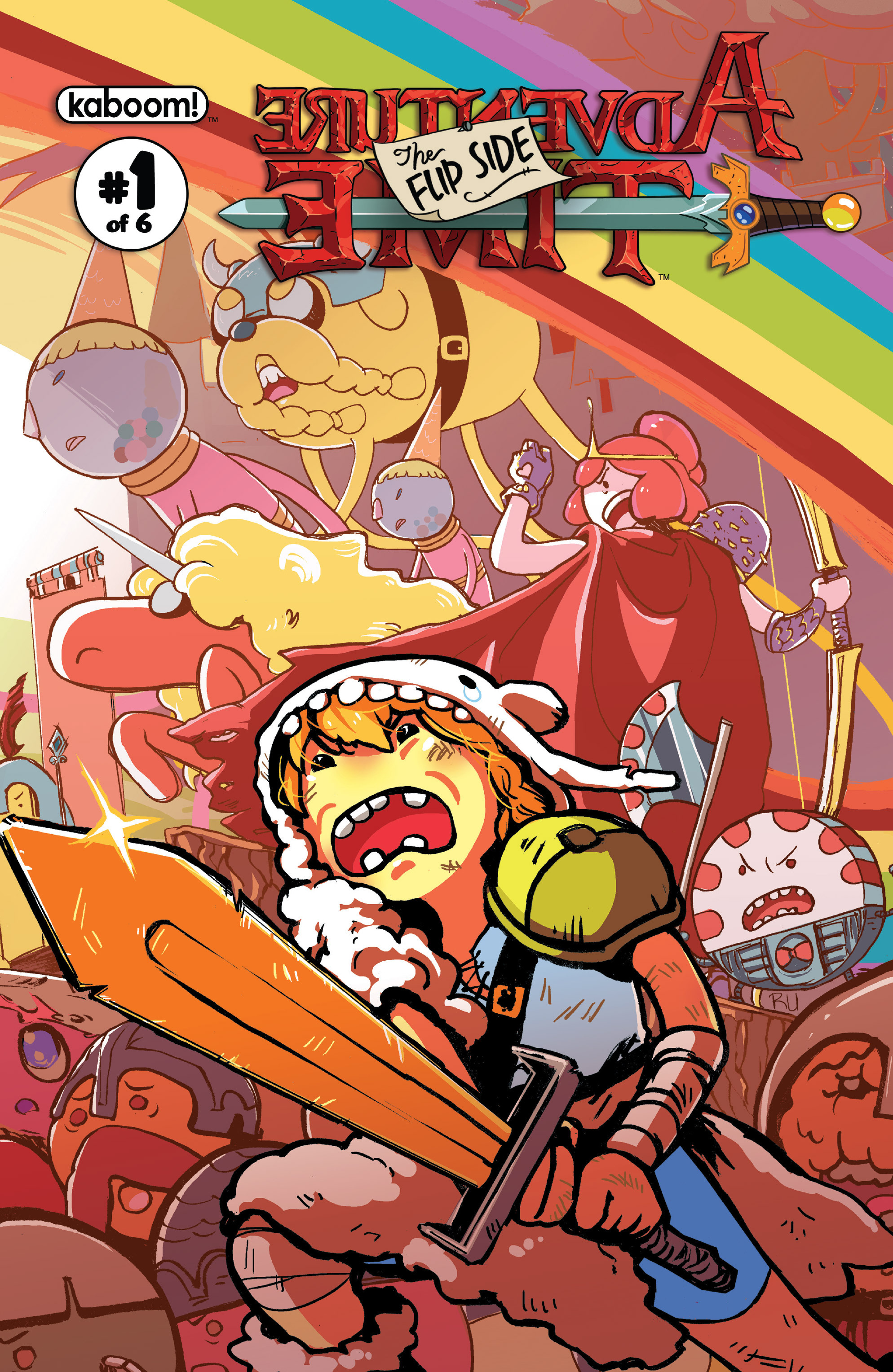 Read online Adventure Time: The Flip Side comic -  Issue #1 - 2