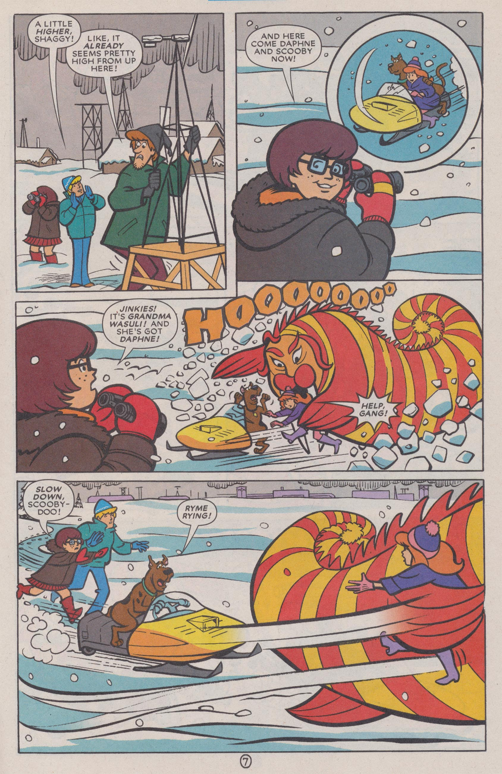 Read online Scooby-Doo (1997) comic -  Issue #72 - 34