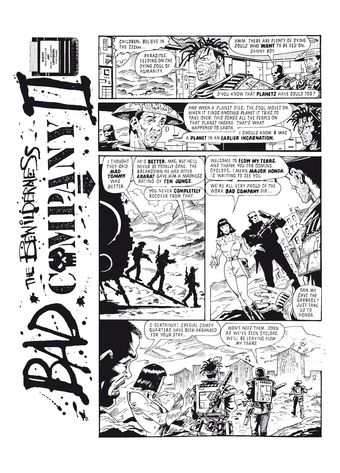 Read online The Complete Bad Company comic -  Issue # TPB - 125