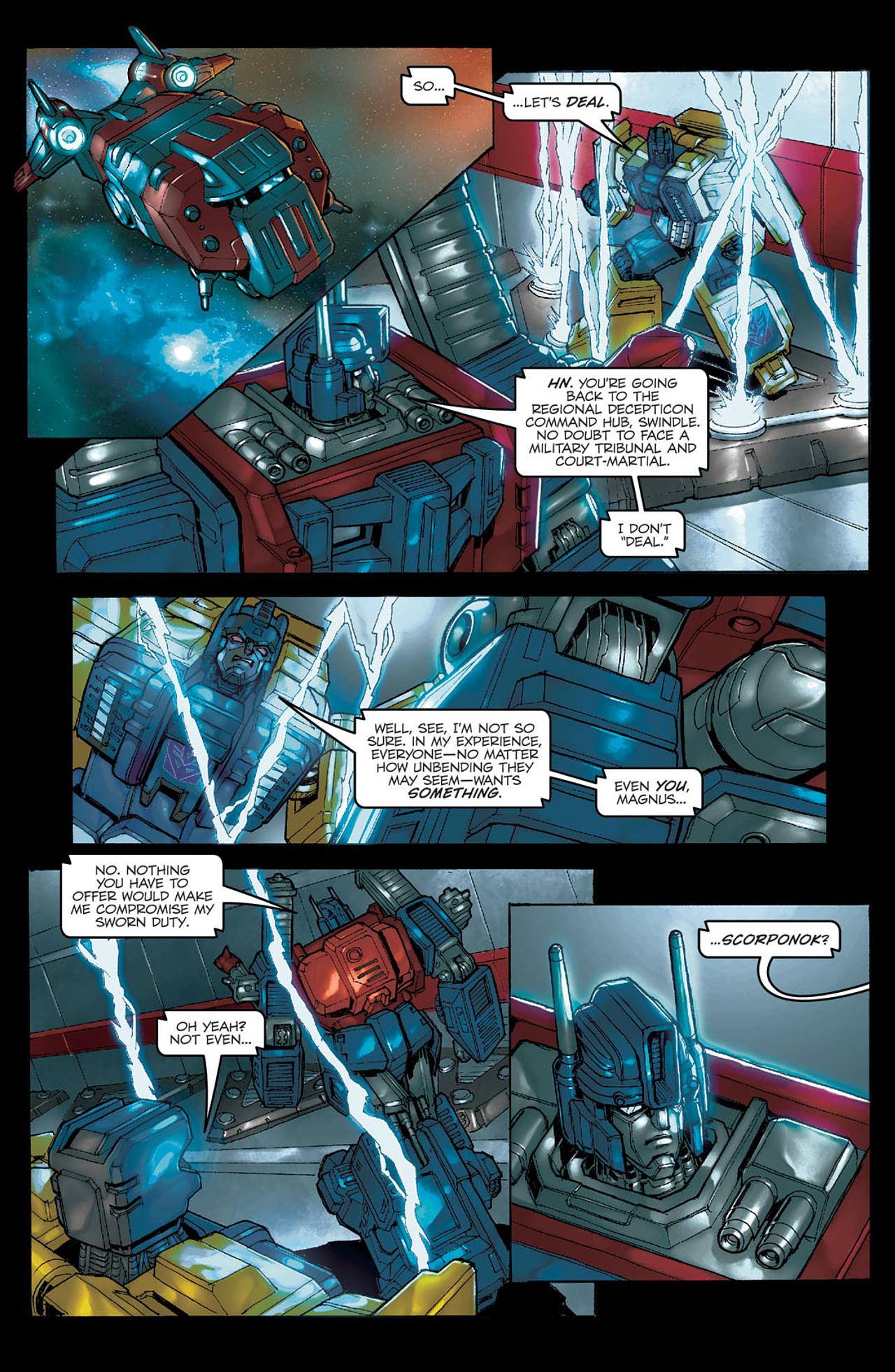 Read online Transformers Spotlight: Ultra Magnus comic -  Issue # Full - 9