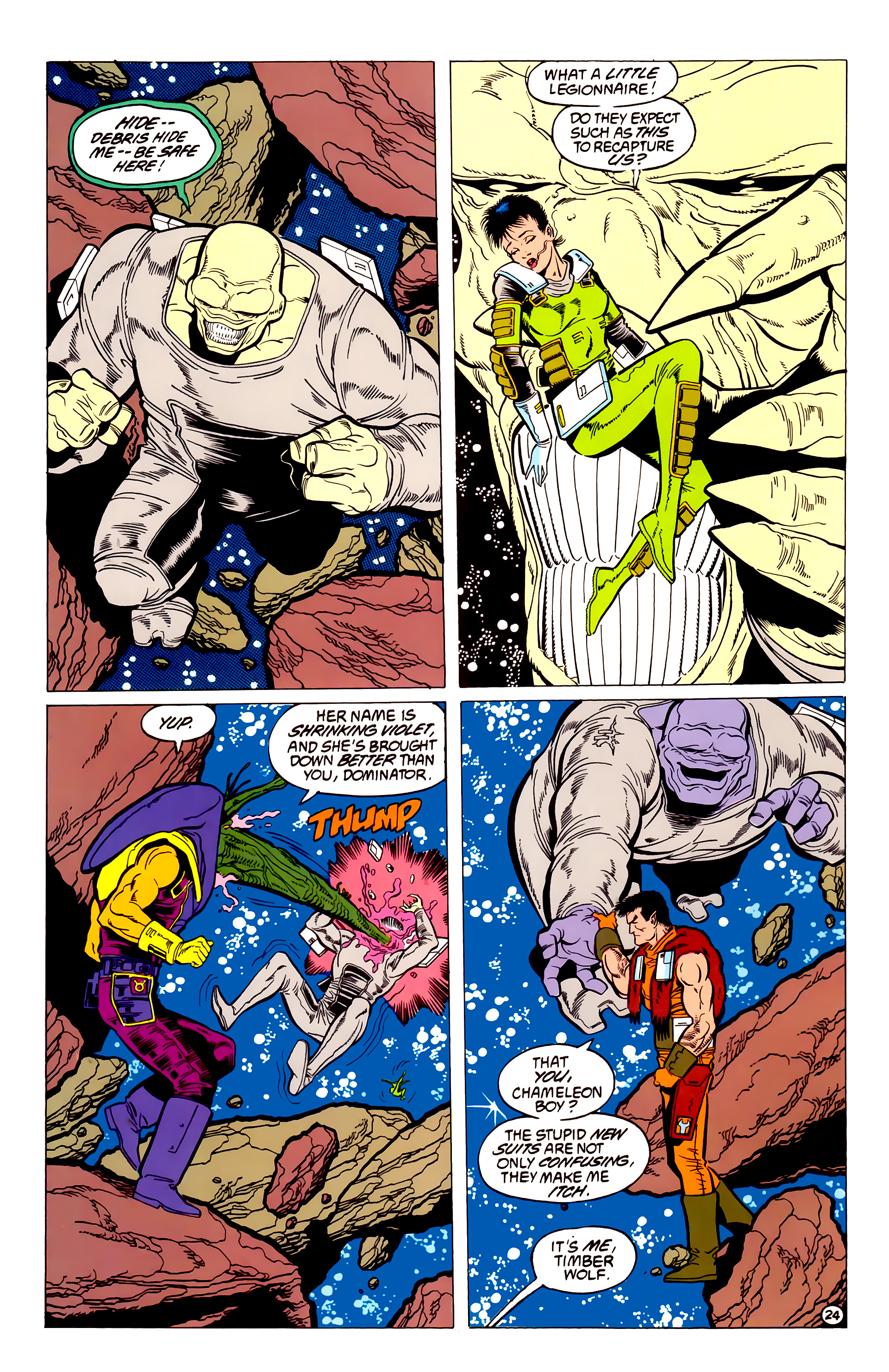 Legion of Super-Heroes (1984) 54 Page 24