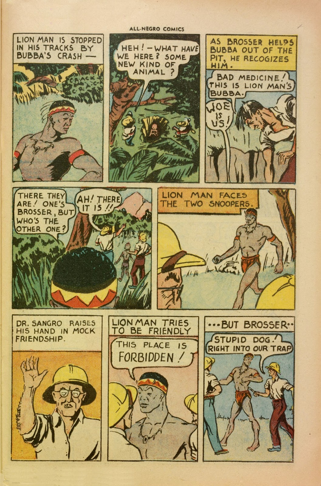 All-Negro Comics issue Full - Page 34