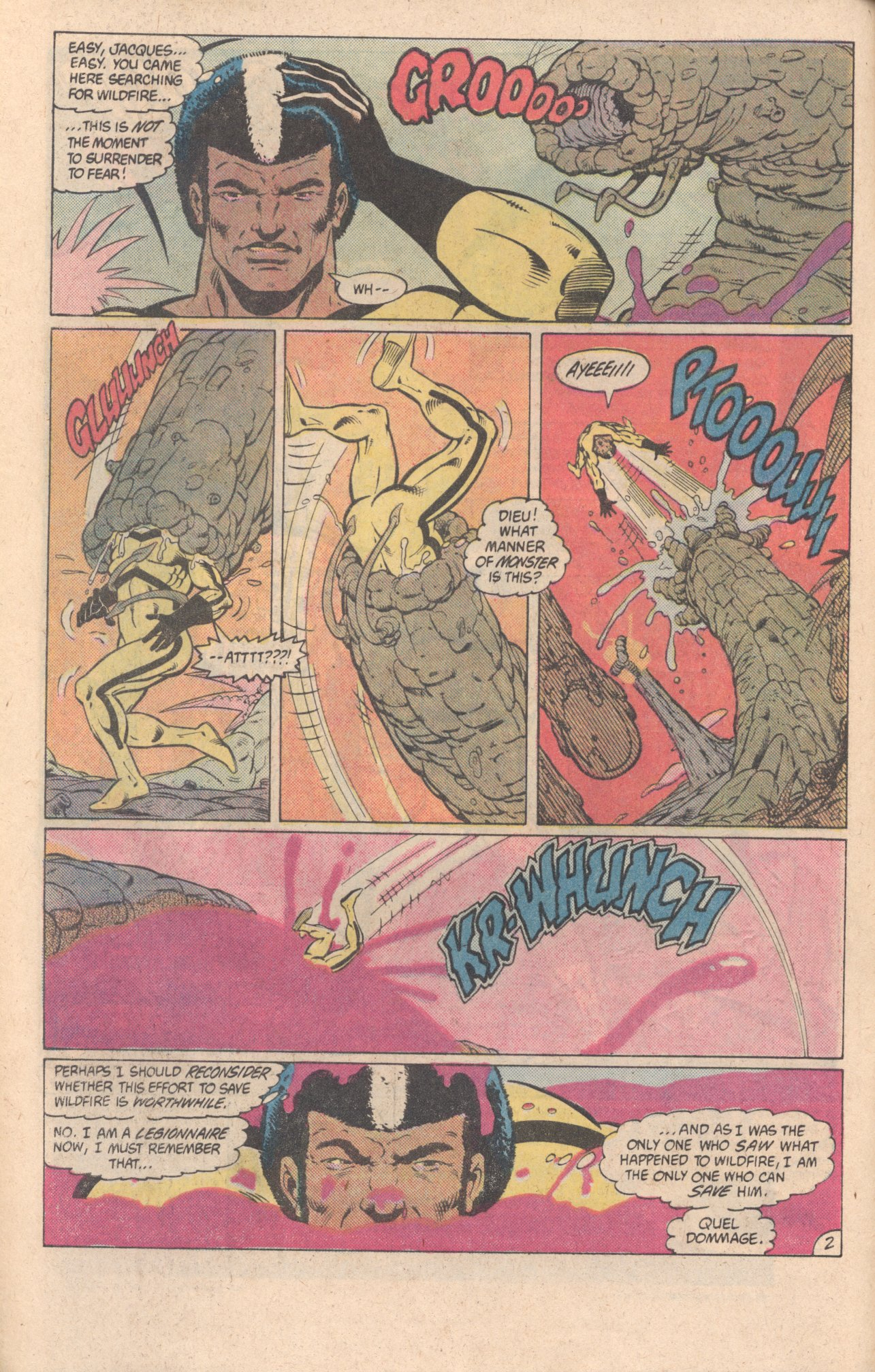 Legion of Super-Heroes (1980) 299 Page 2
