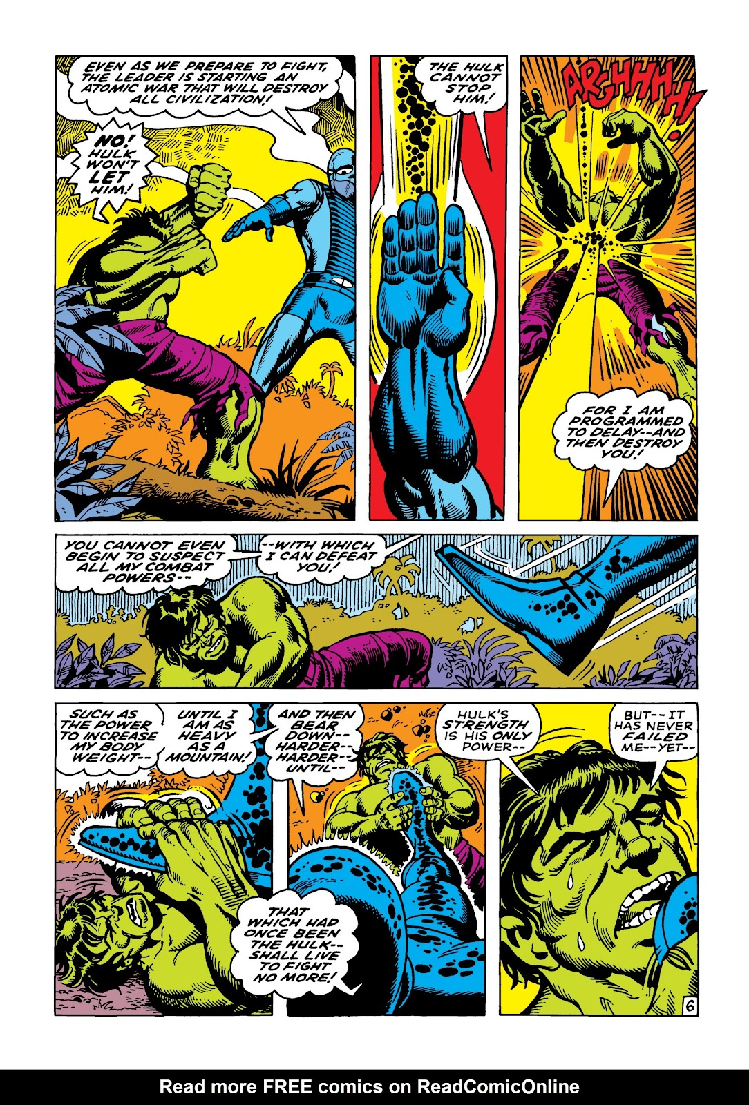 Read online Marvel Masterworks: The Incredible Hulk comic -  Issue # TPB 5 (Part 2) - 38