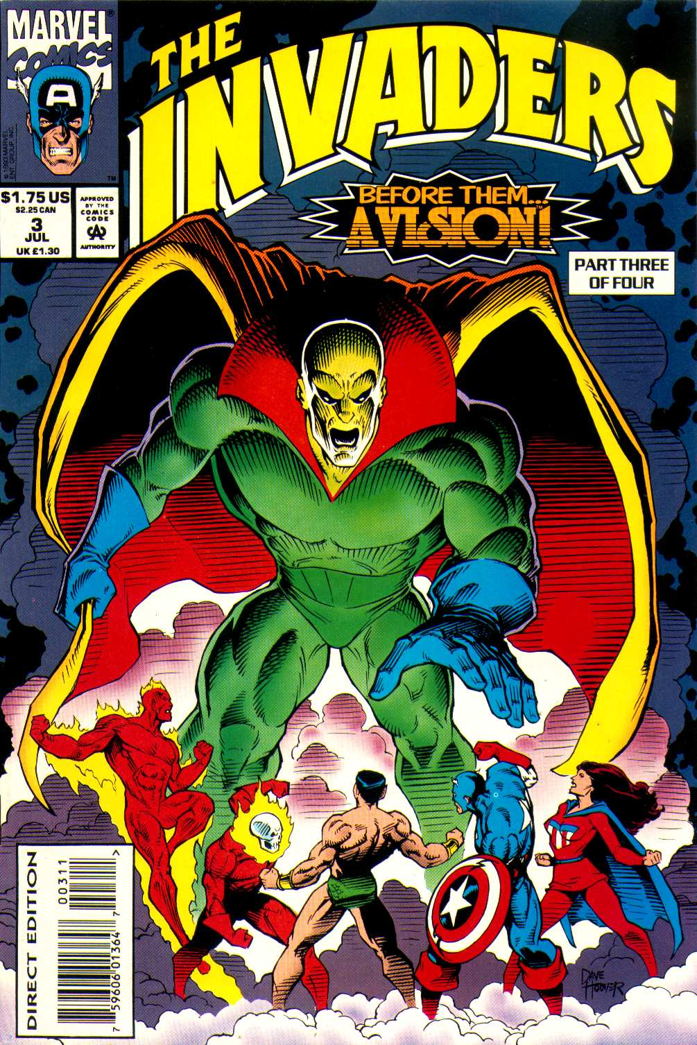 Read online The Invaders (1993) comic -  Issue #3 - 1