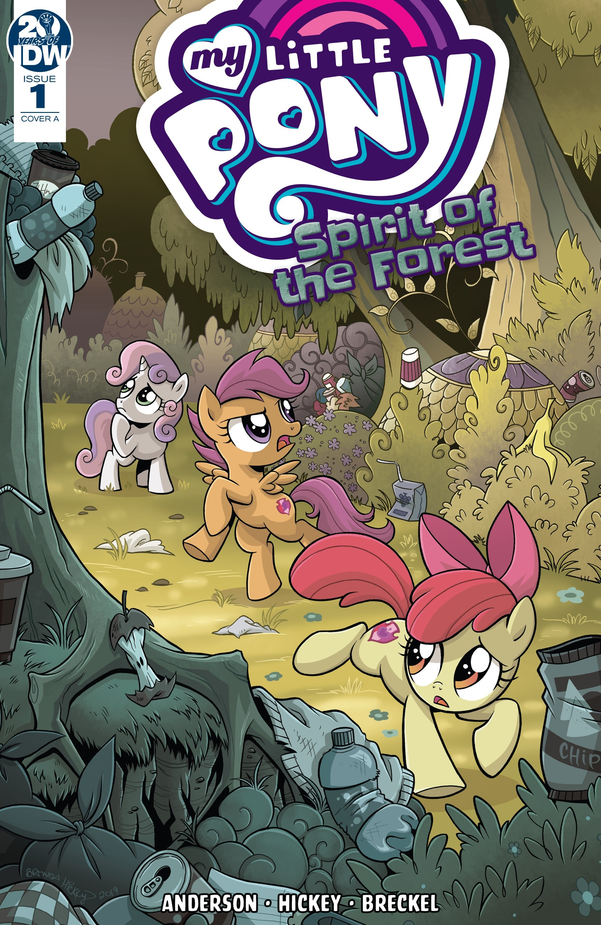 My Little Pony: Spirit of the Forest issue 1 - Page 1