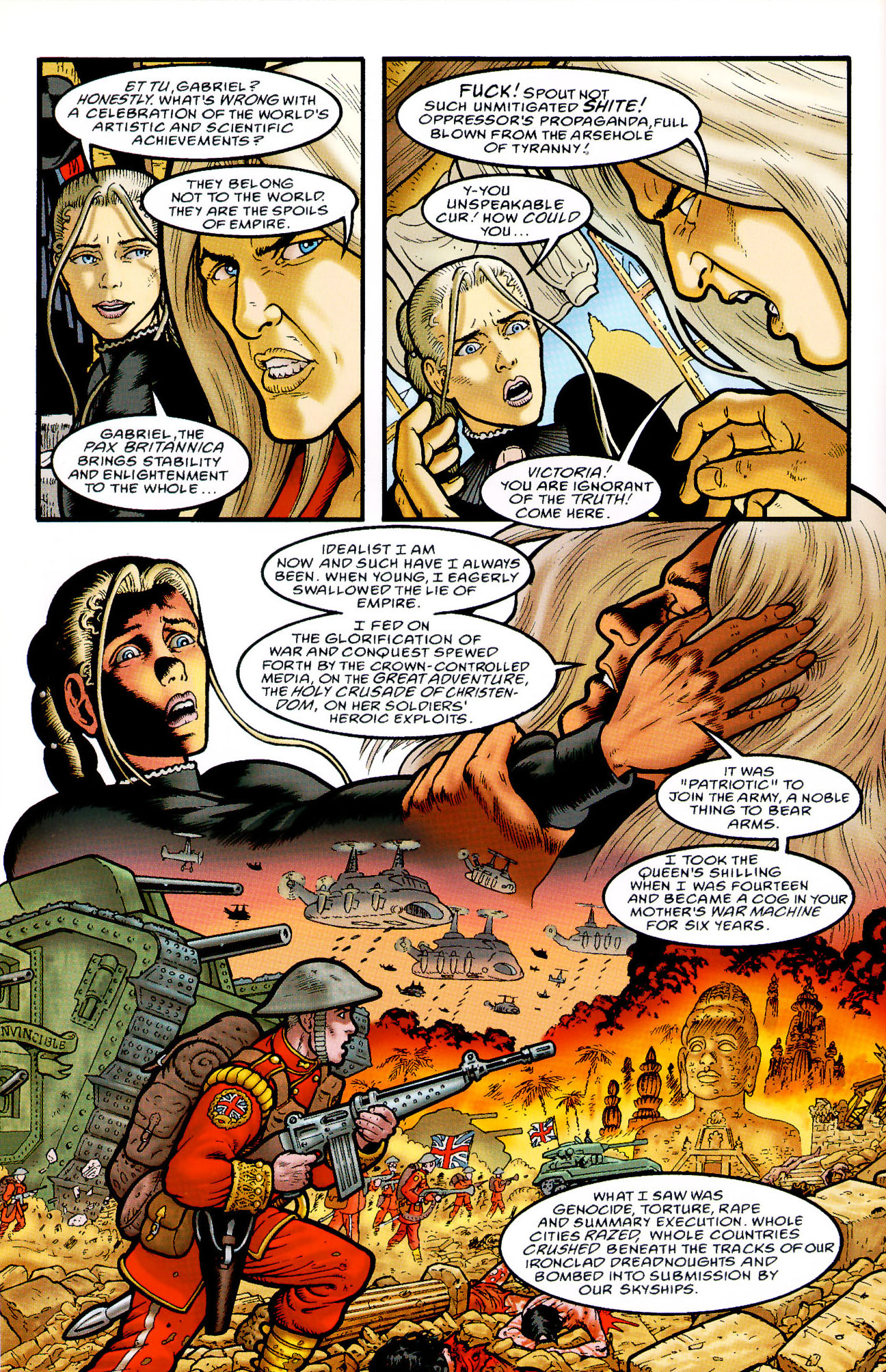 Read online Heart of Empire comic -  Issue #5 - 8