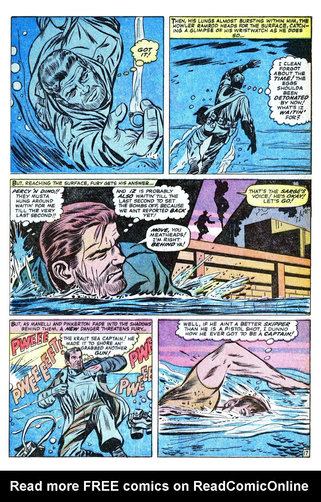 Read online Sgt. Fury comic -  Issue #18 - 25