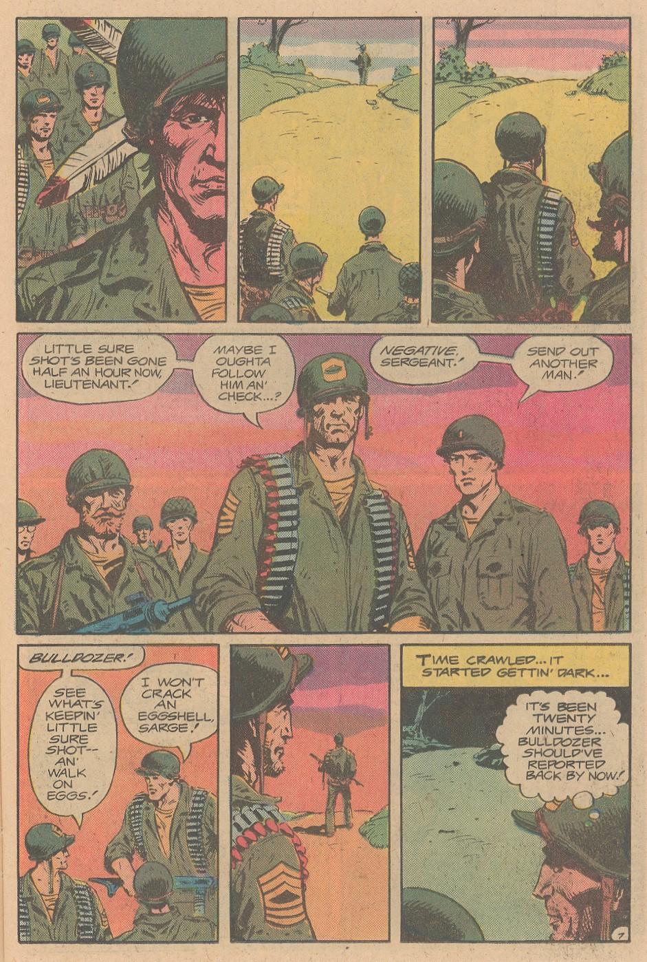 Read online Sgt. Rock comic -  Issue #356 - 8