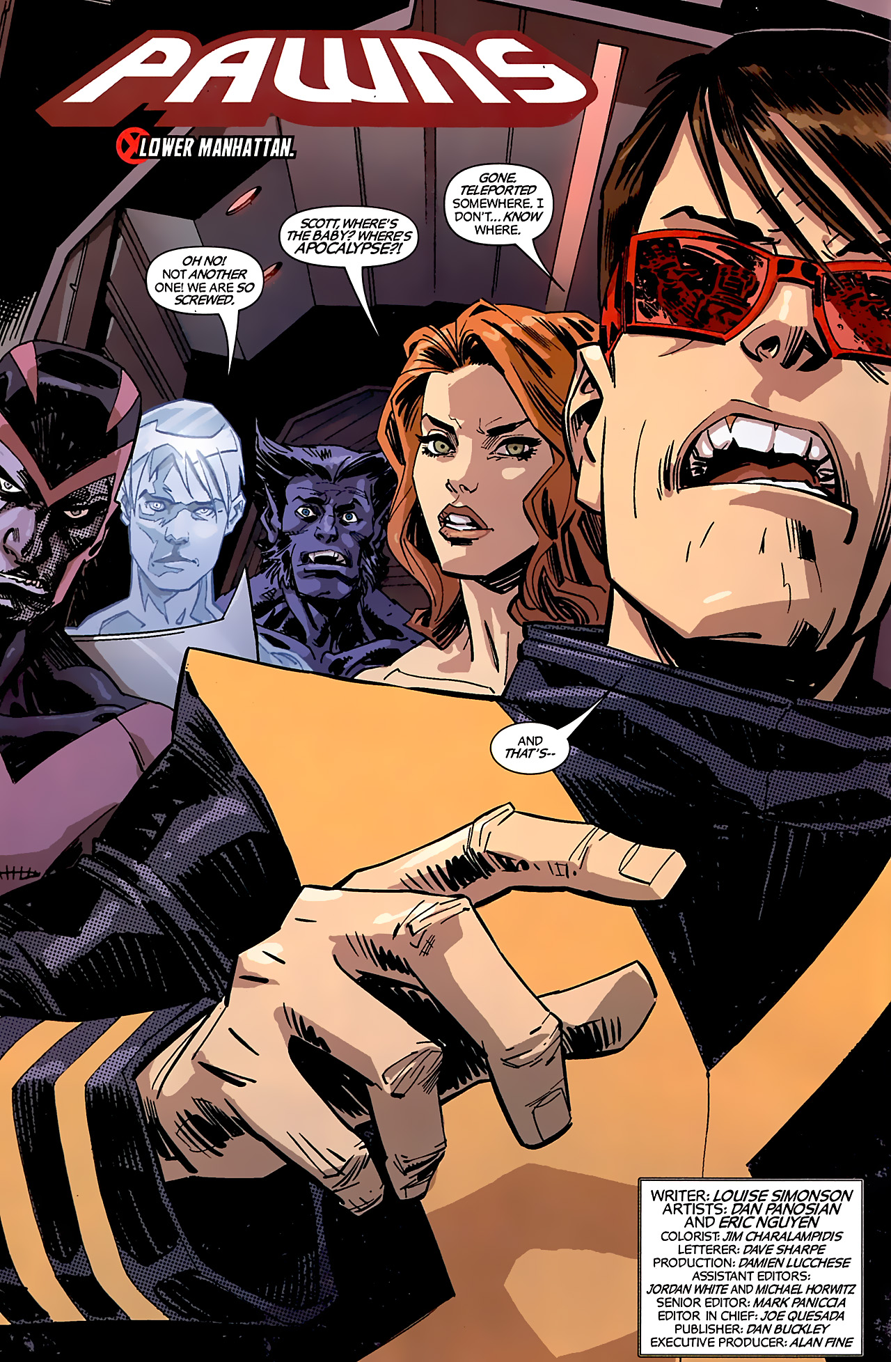 Read online X-Factor Forever comic -  Issue #4 - 3