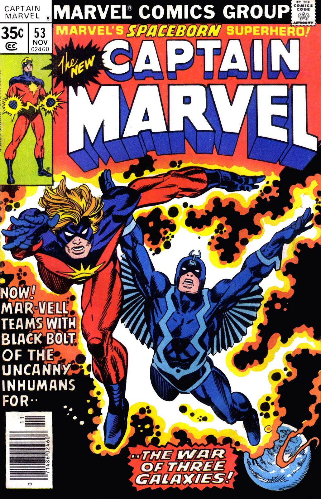 Captain Marvel (1968) issue 53 - Page 1