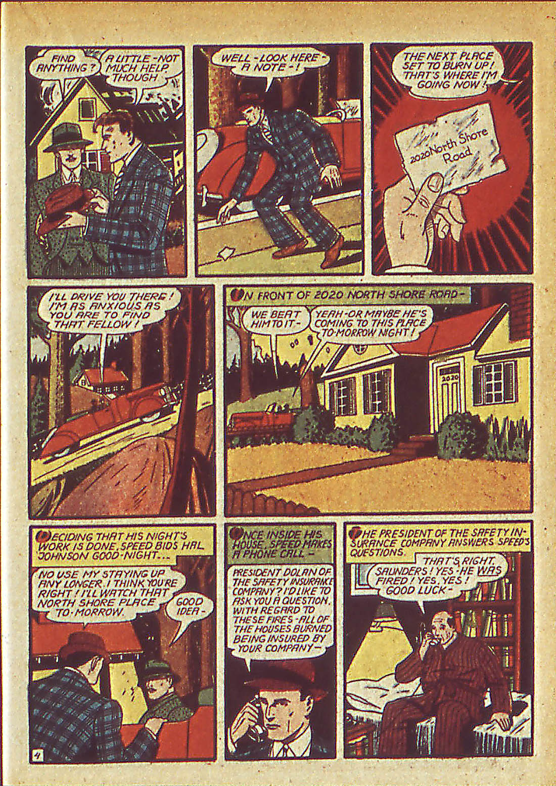 Read online Detective Comics (1937) comic -  Issue #42 - 41