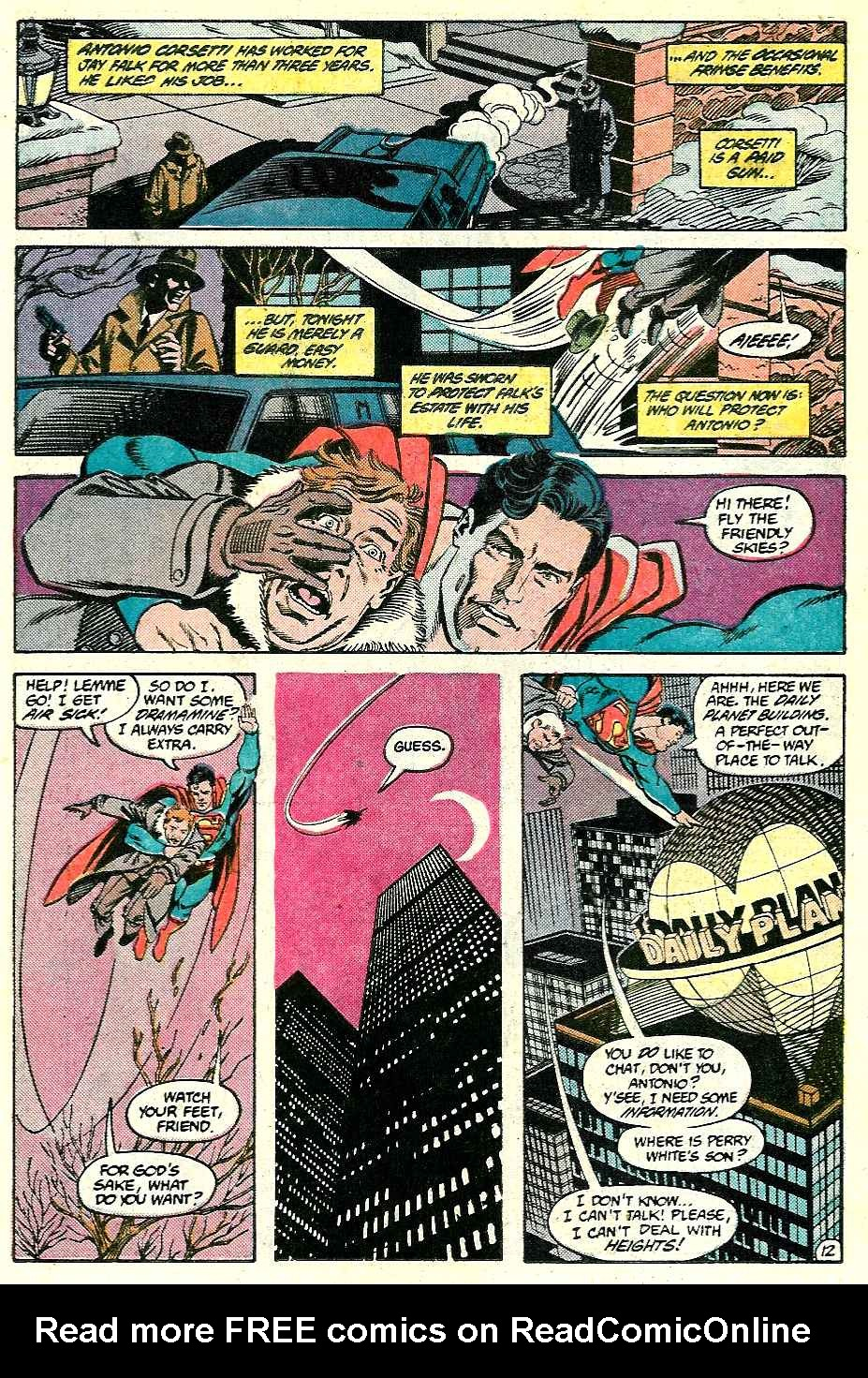 Read online Adventures of Superman (1987) comic -  Issue #428 - 12