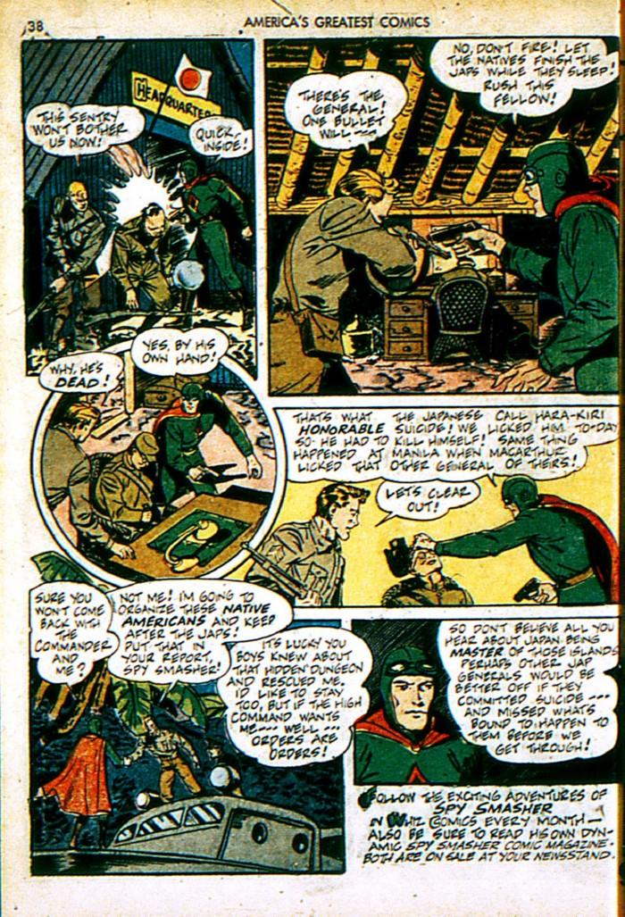 Read online America's Greatest Comics comic -  Issue #4 - 38