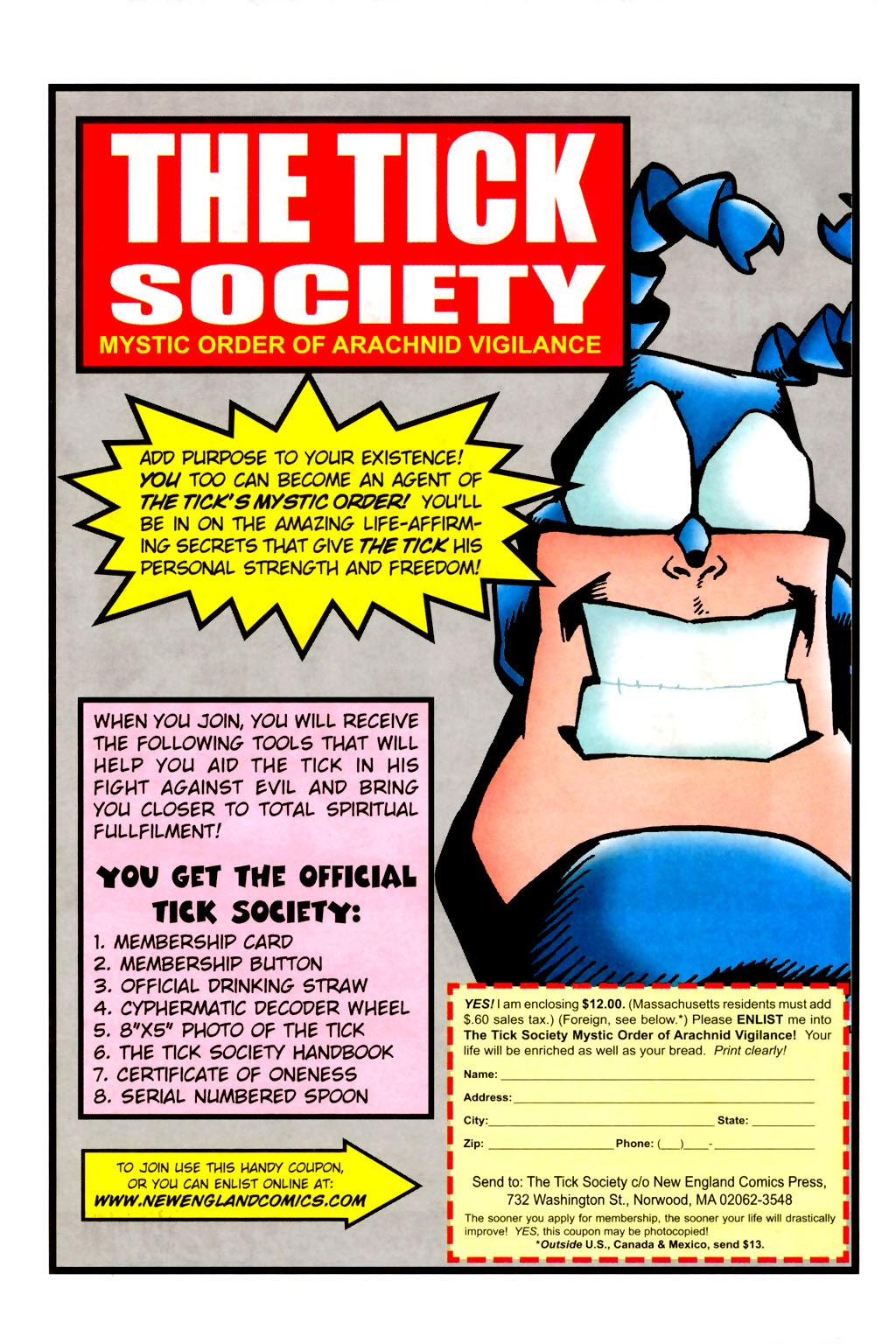 Read online The Tick: Days of Drama comic -  Issue #1 - 37