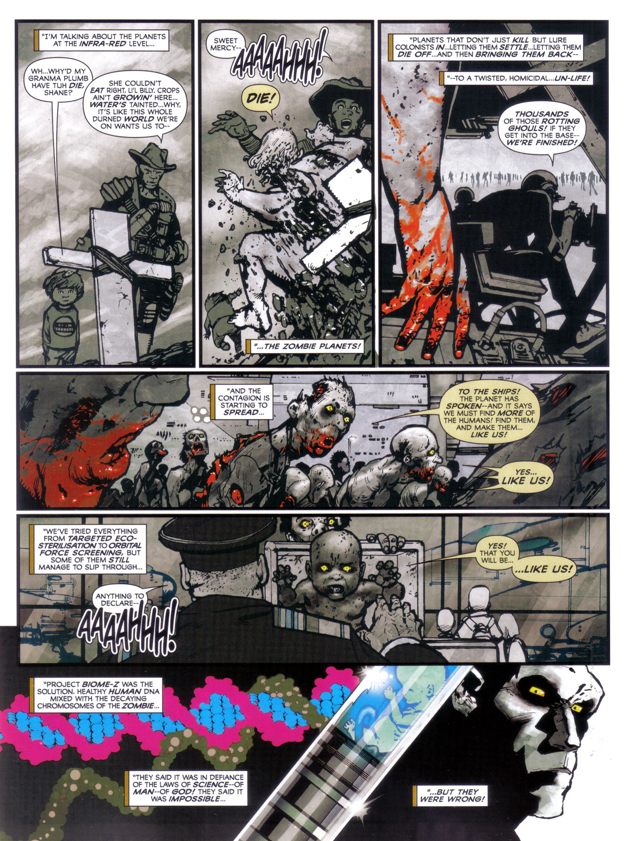 Read online 2000 AD comic -  Issue #1746 - 23