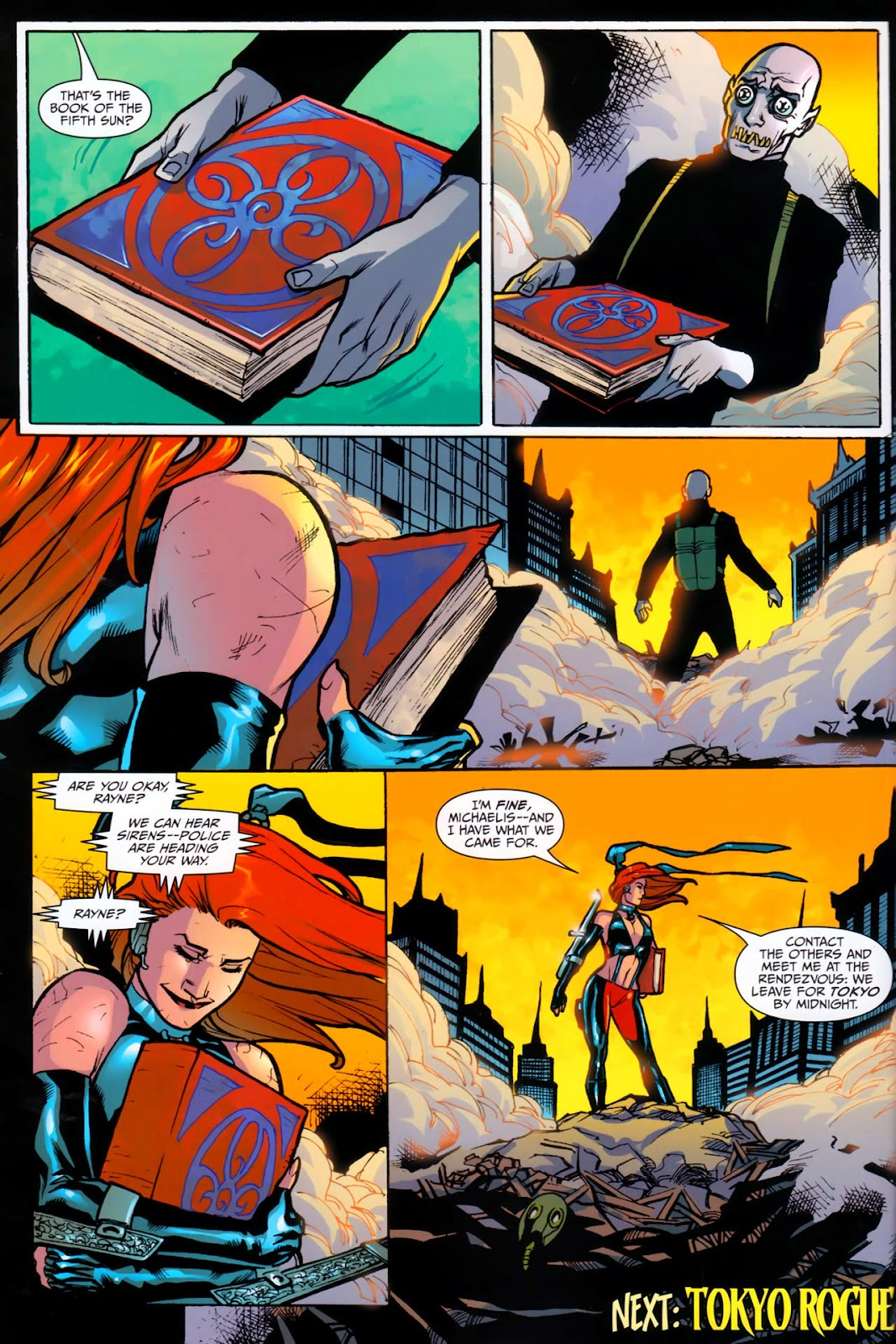 BloodRayne: Automaton issue Full - Page 28