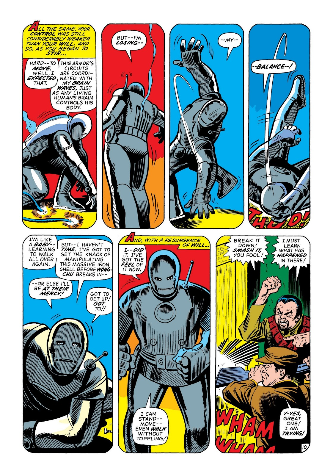 Read online Marvel Masterworks: The Invincible Iron Man comic -  Issue # TPB 8 (Part 2) - 76