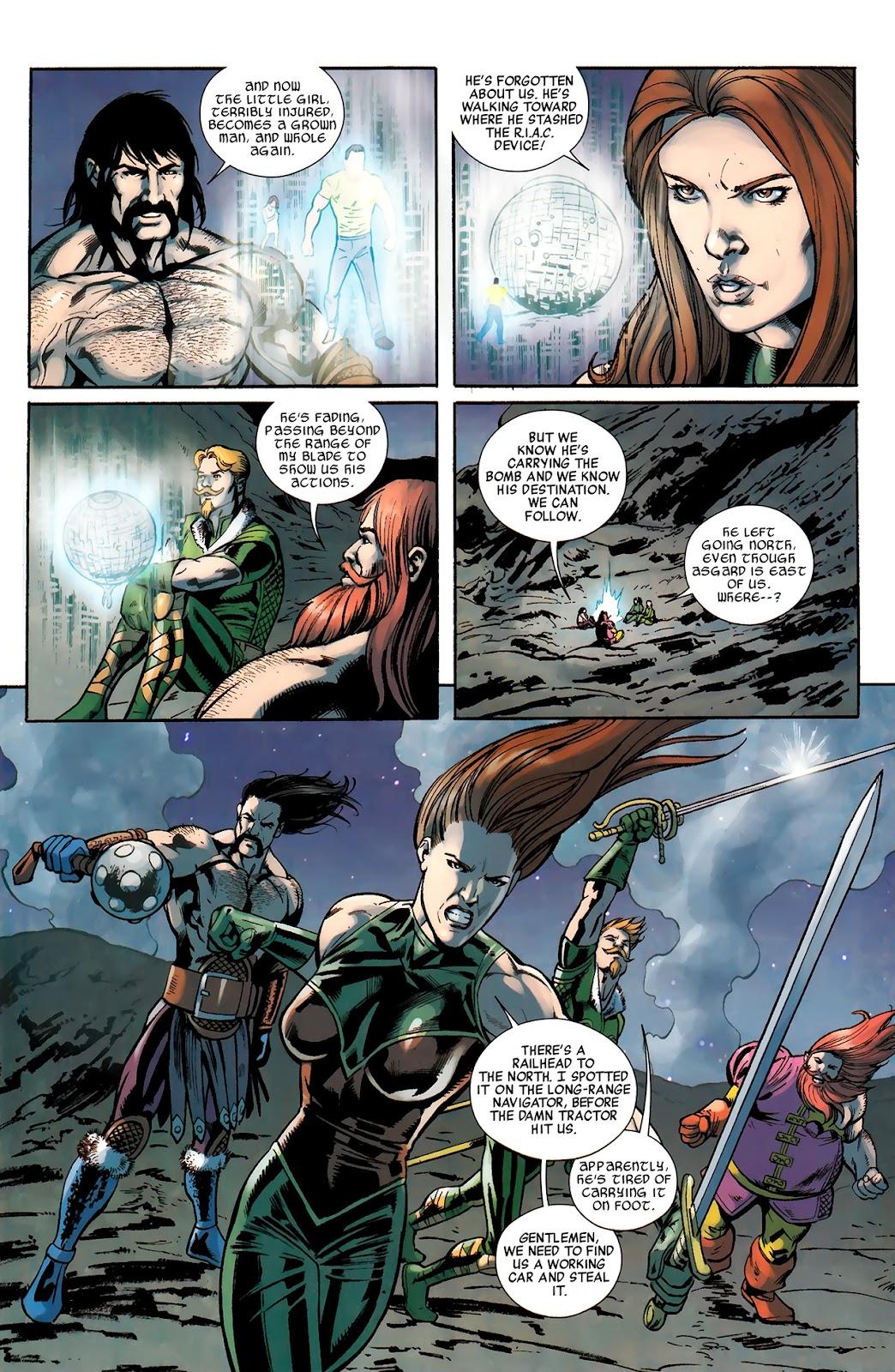 Warriors Three Issue #4 #4 - English 10