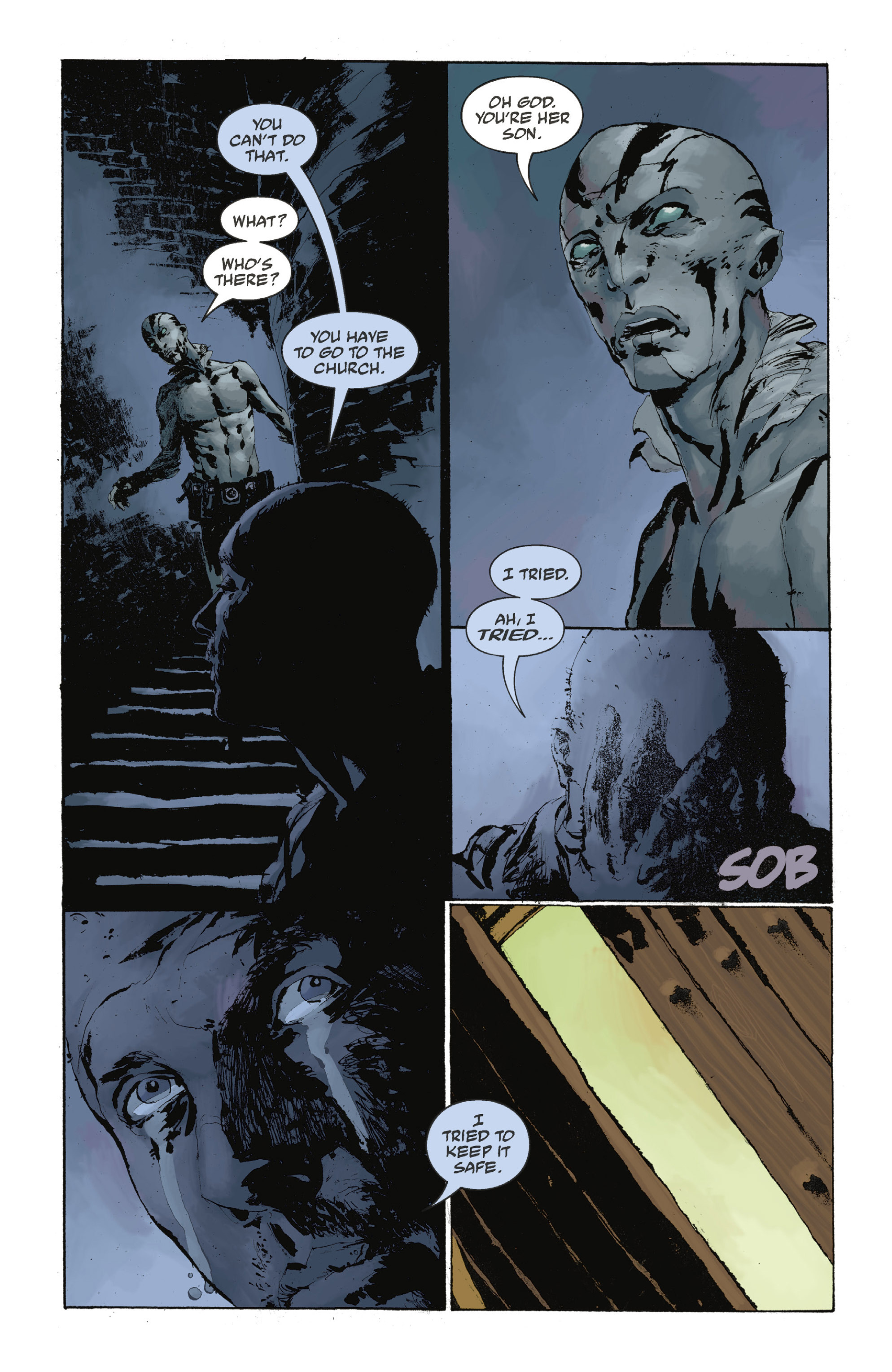 Read online Abe Sapien: The Drowning comic -  Issue #Abe Sapien: The Drowning _TPB - 109