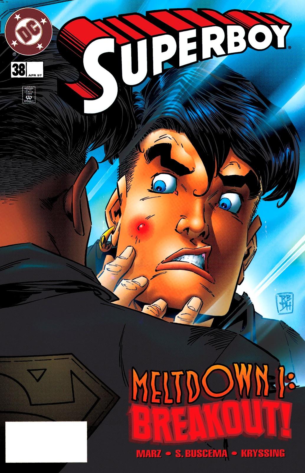 Superboy (1994) 38 Page 1