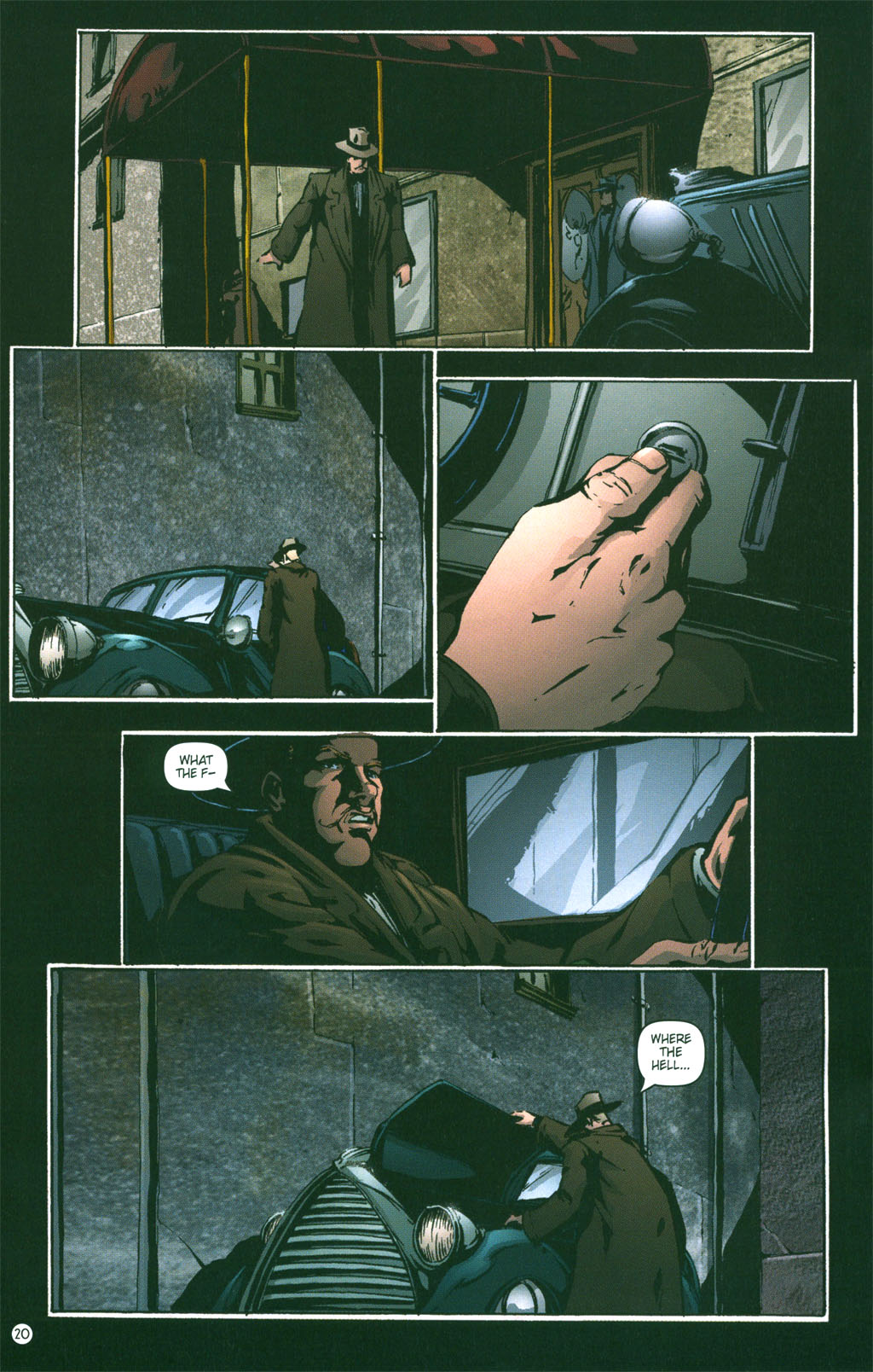 Read online Rex Mundi comic -  Issue #3 - 22