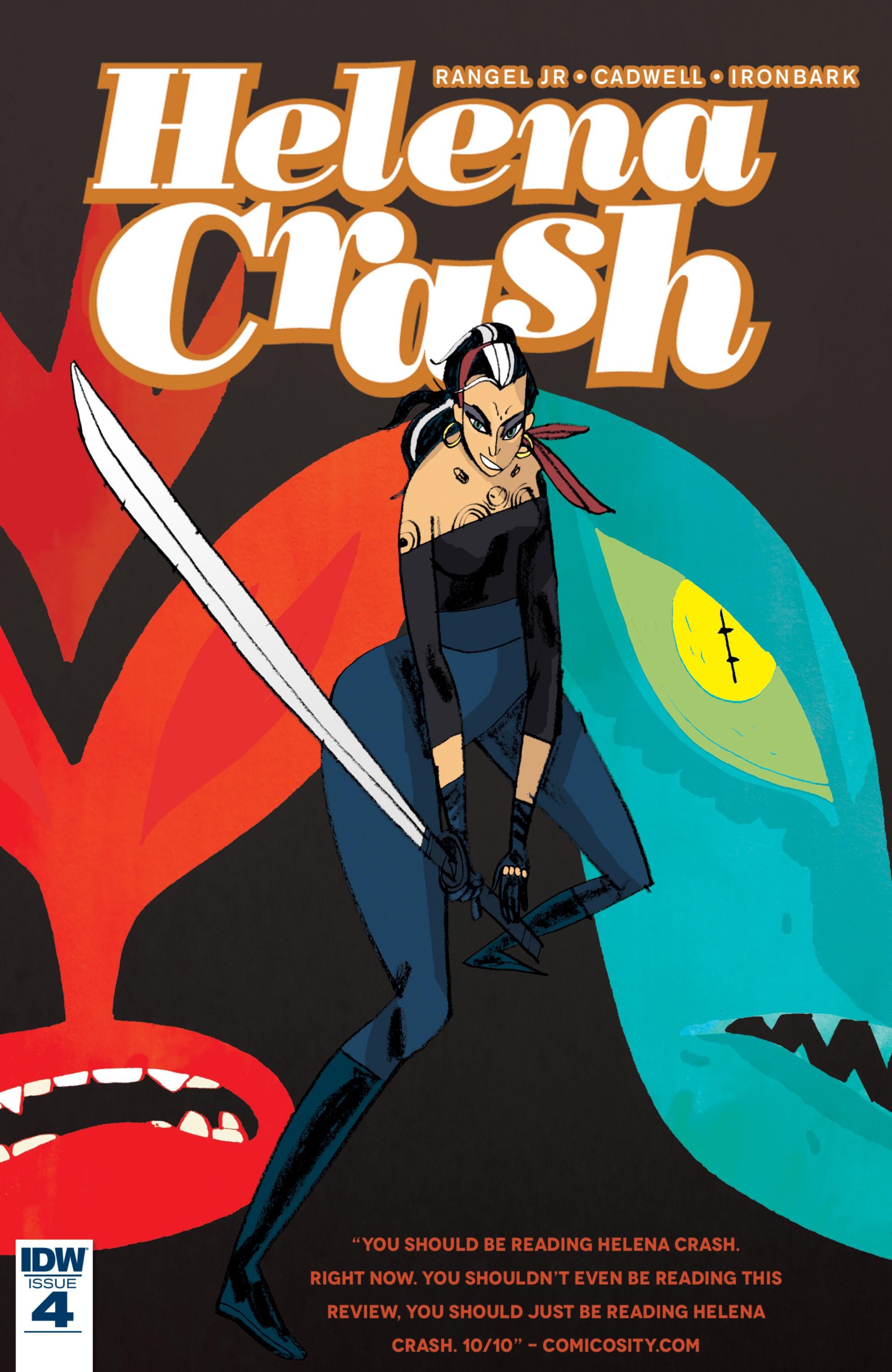 Read online Helena Crash comic -  Issue #4 - 1