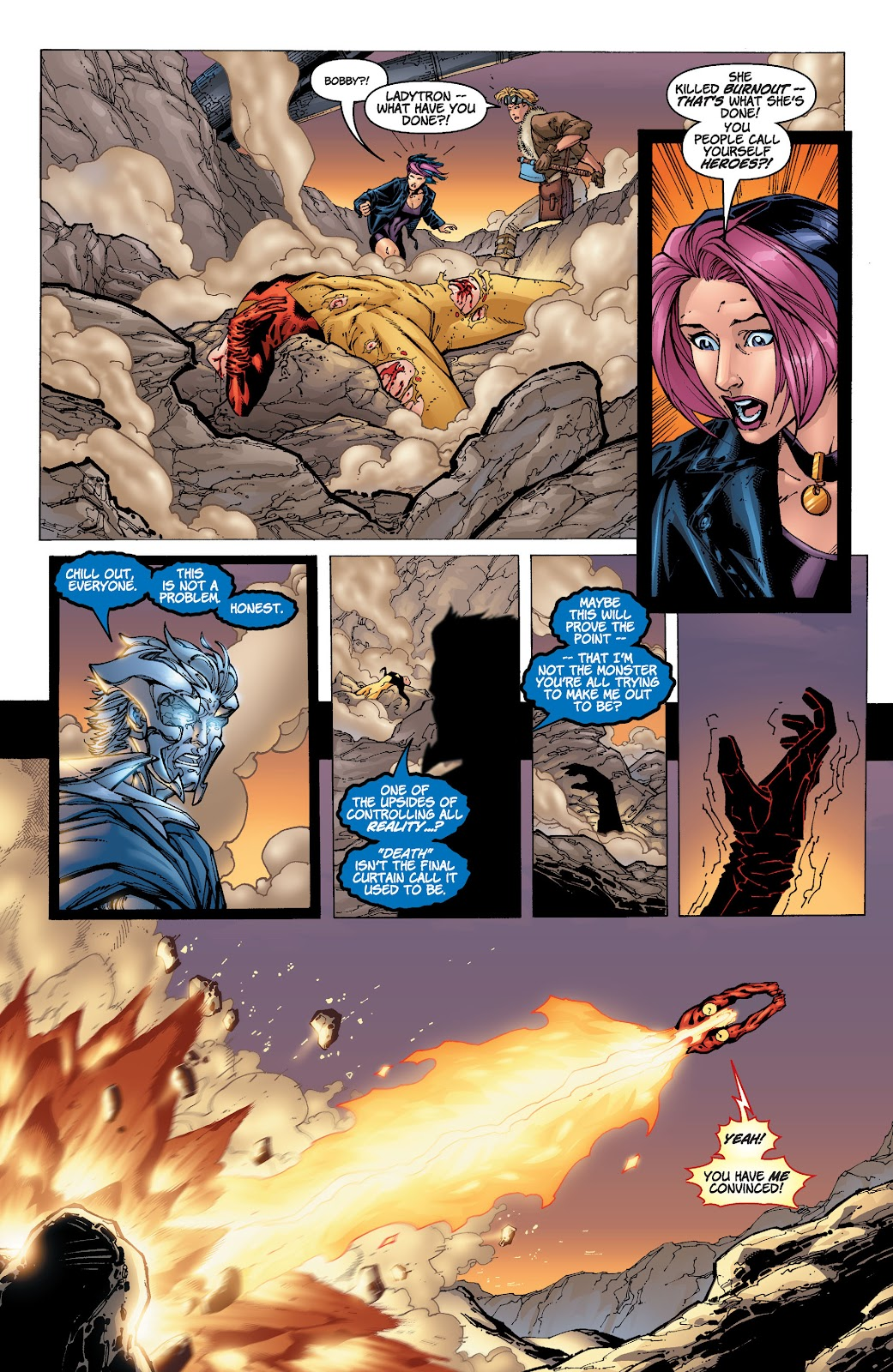 Read online Divine Right comic -  Issue # _TPB The Adventures of Max Faraday (Part 4) - 12