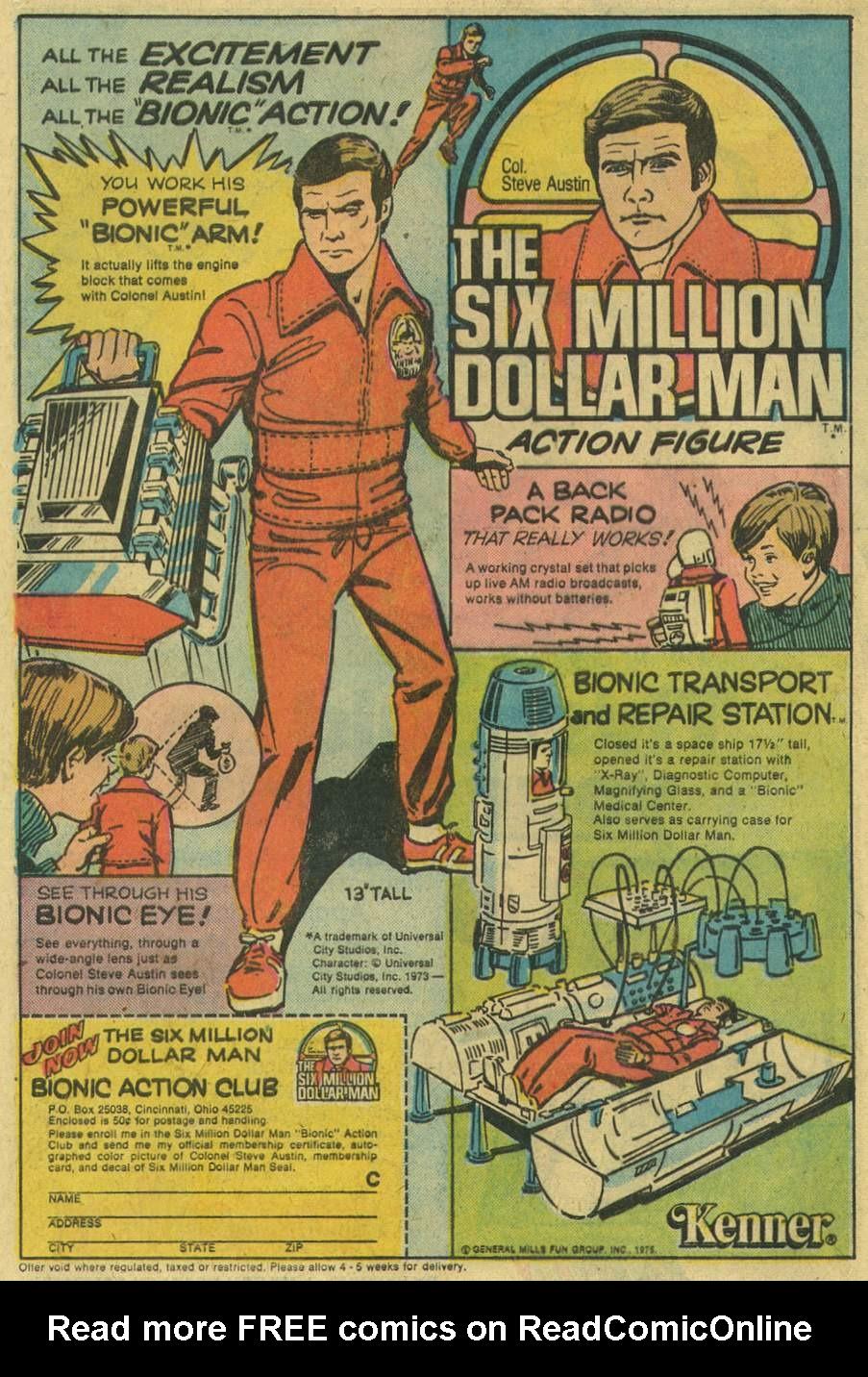 Read online Adventure Comics (1938) comic -  Issue #443 - 8