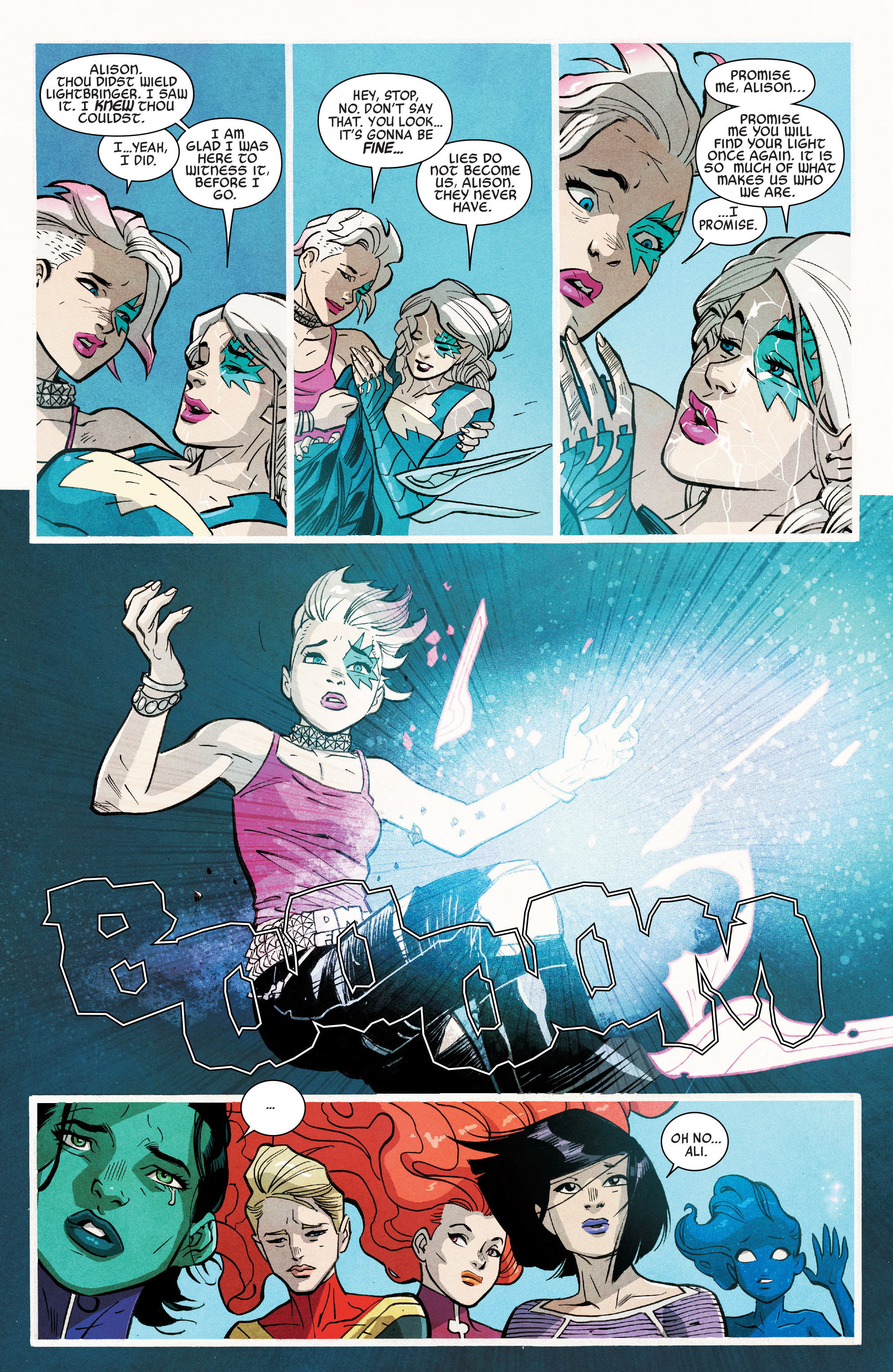Read online A-Force (2016) comic -  Issue #7 - 19