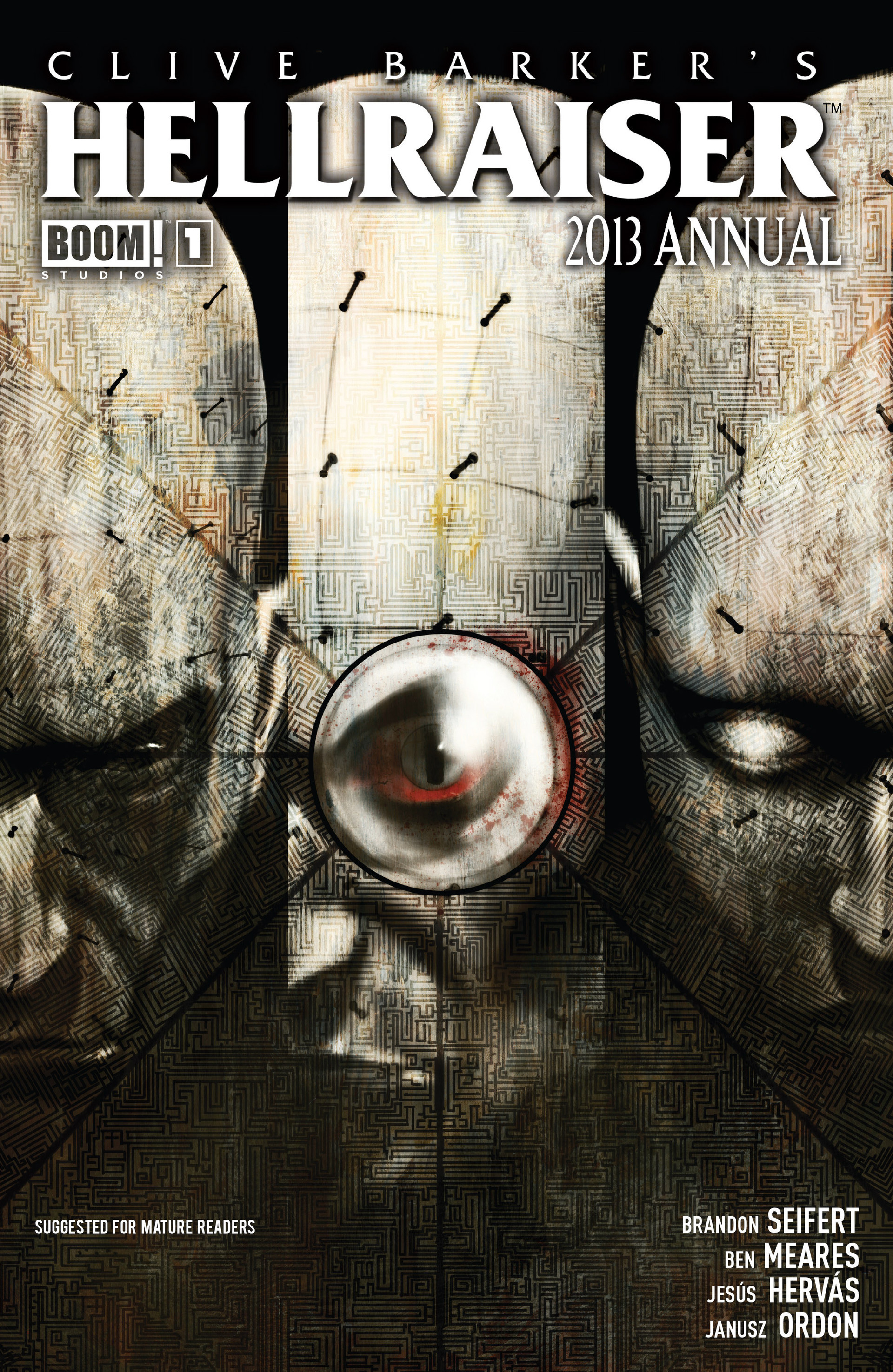 Read online Clive Barker's Hellraiser (2011) comic -  Issue # _Annual 2013 - 1