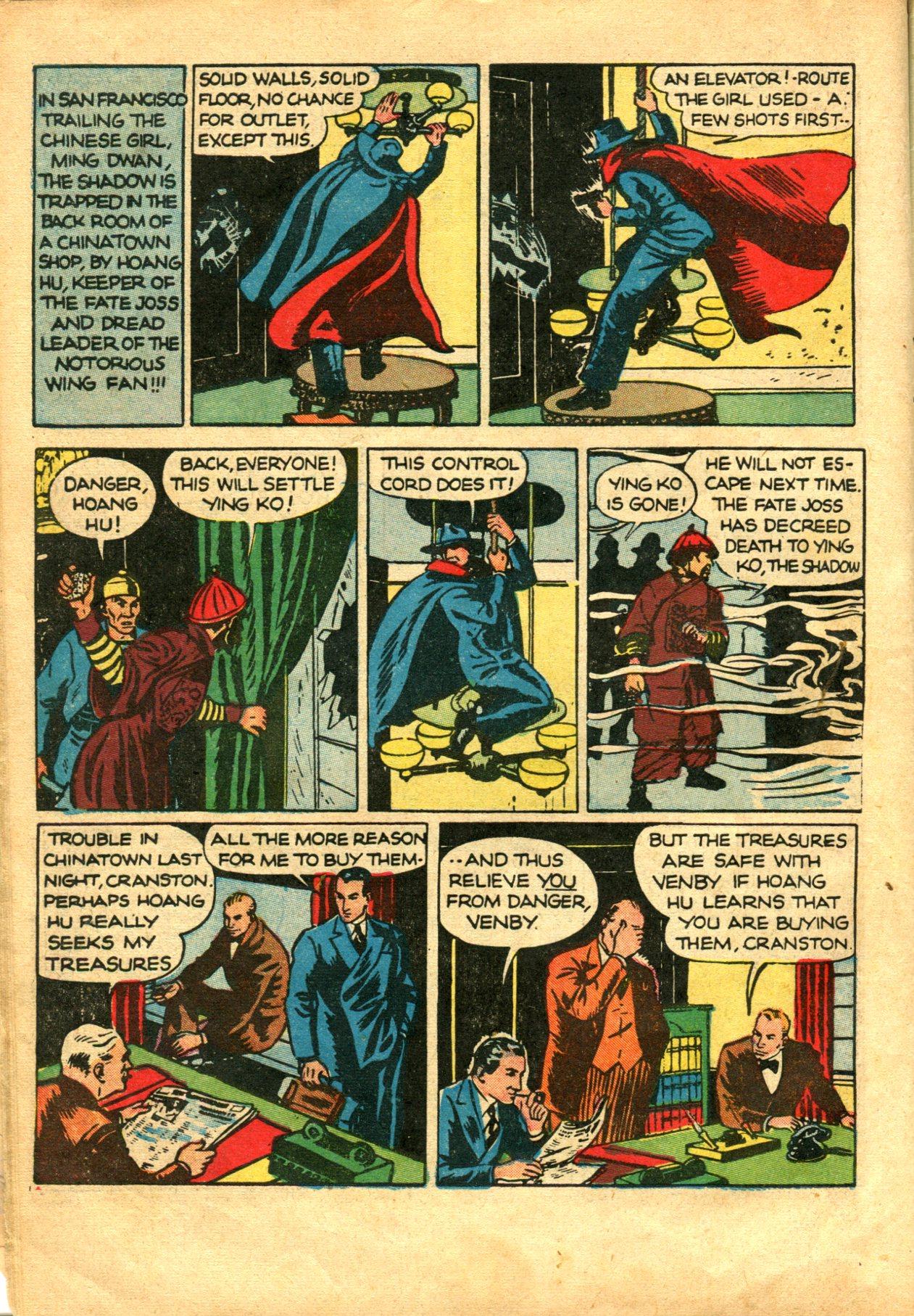 Read online Shadow Comics comic -  Issue #10 - 16
