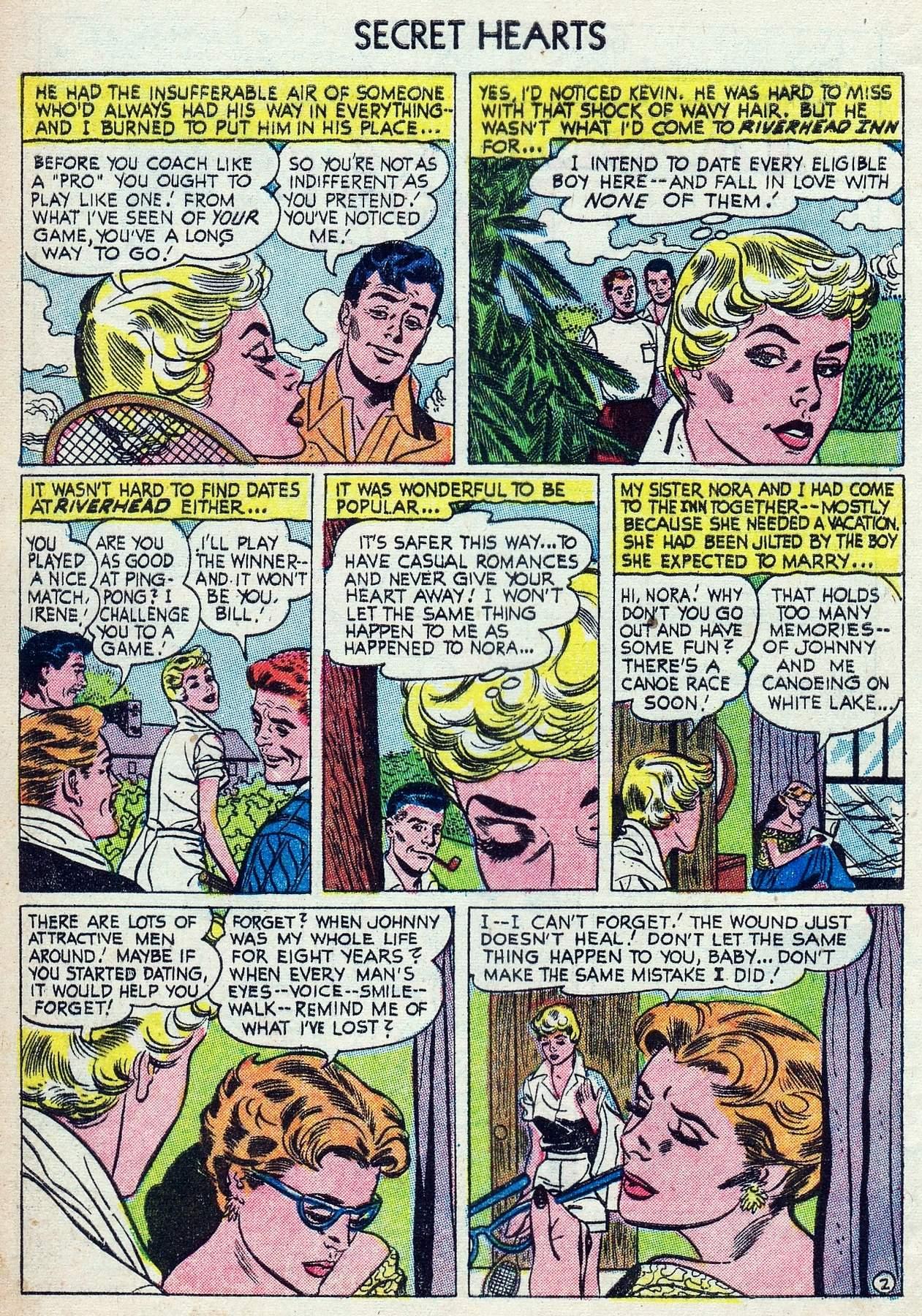 Read online Secret Hearts comic -  Issue #25 - 4