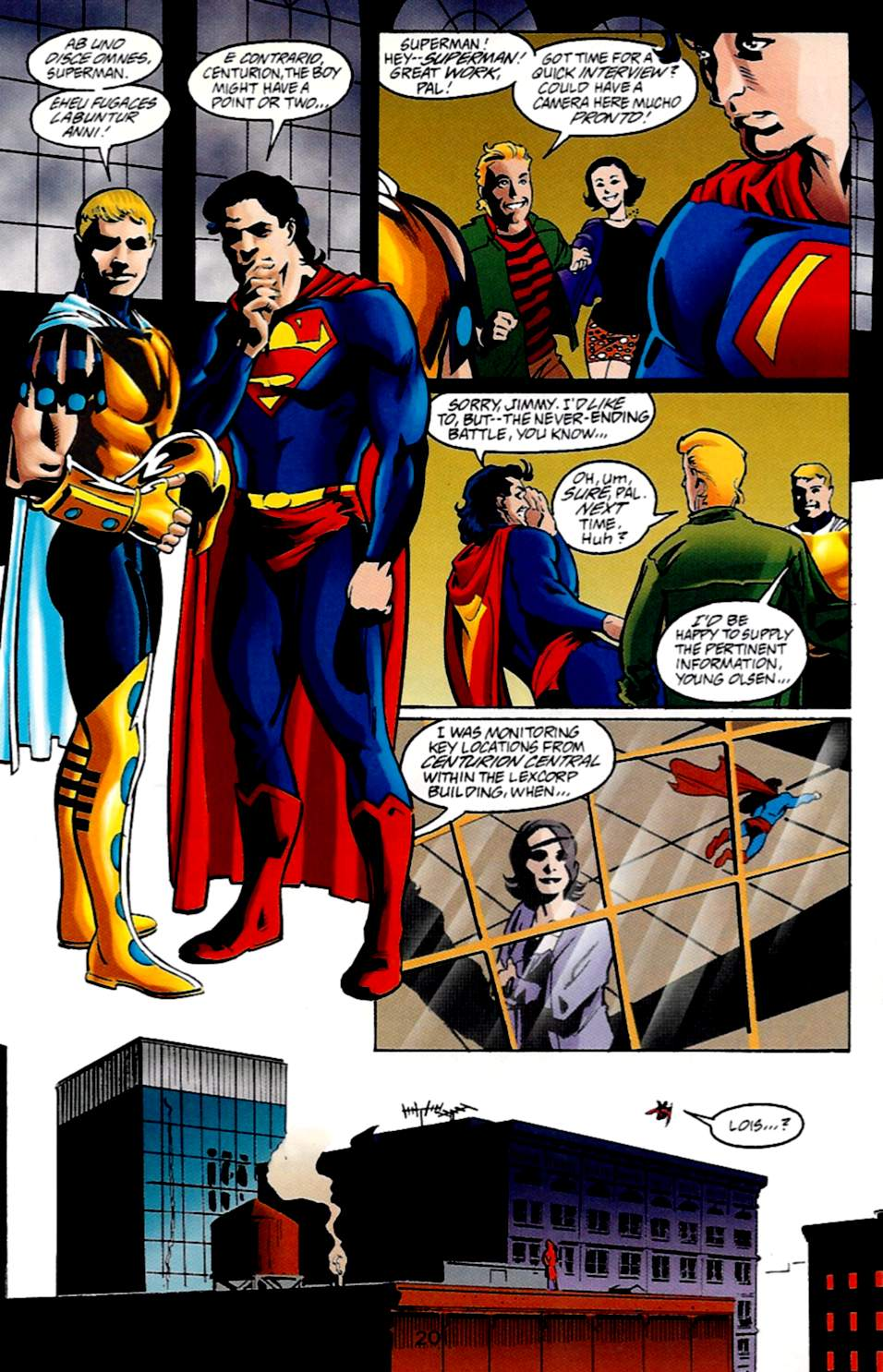 Read online Adventures of Superman (1987) comic -  Issue #533 - 21
