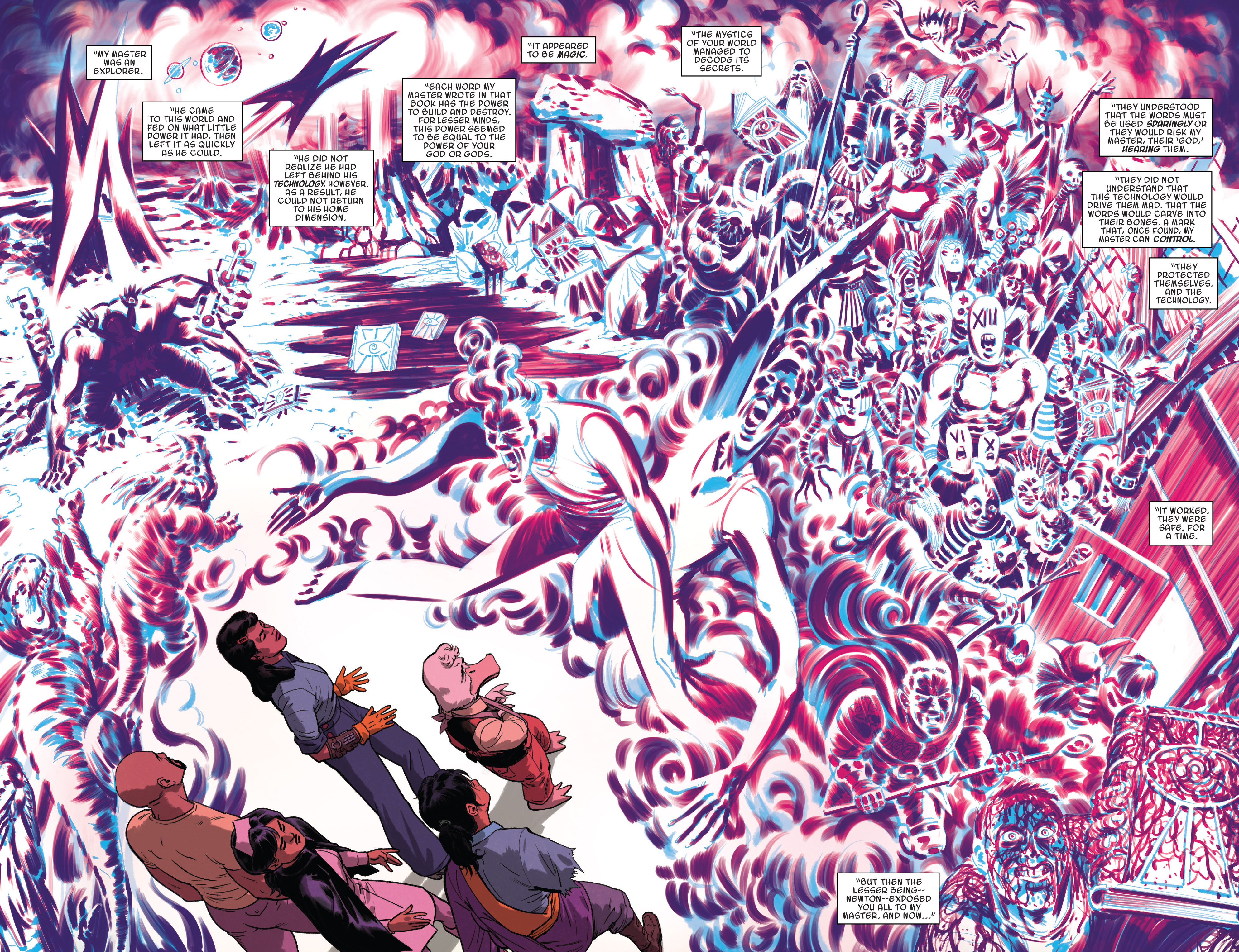 Read online Doctor Strange and the Sorcerers Supreme comic -  Issue #8 - 12