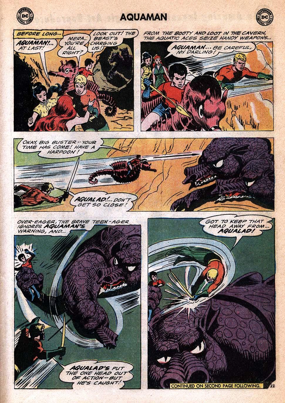 Read online Aquaman (1962) comic -  Issue #20 - 29