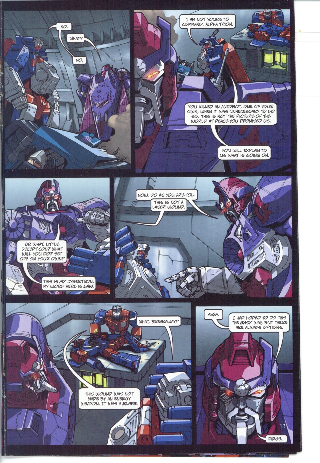 Read online Transformers: Collectors' Club comic -  Issue #25 - 13
