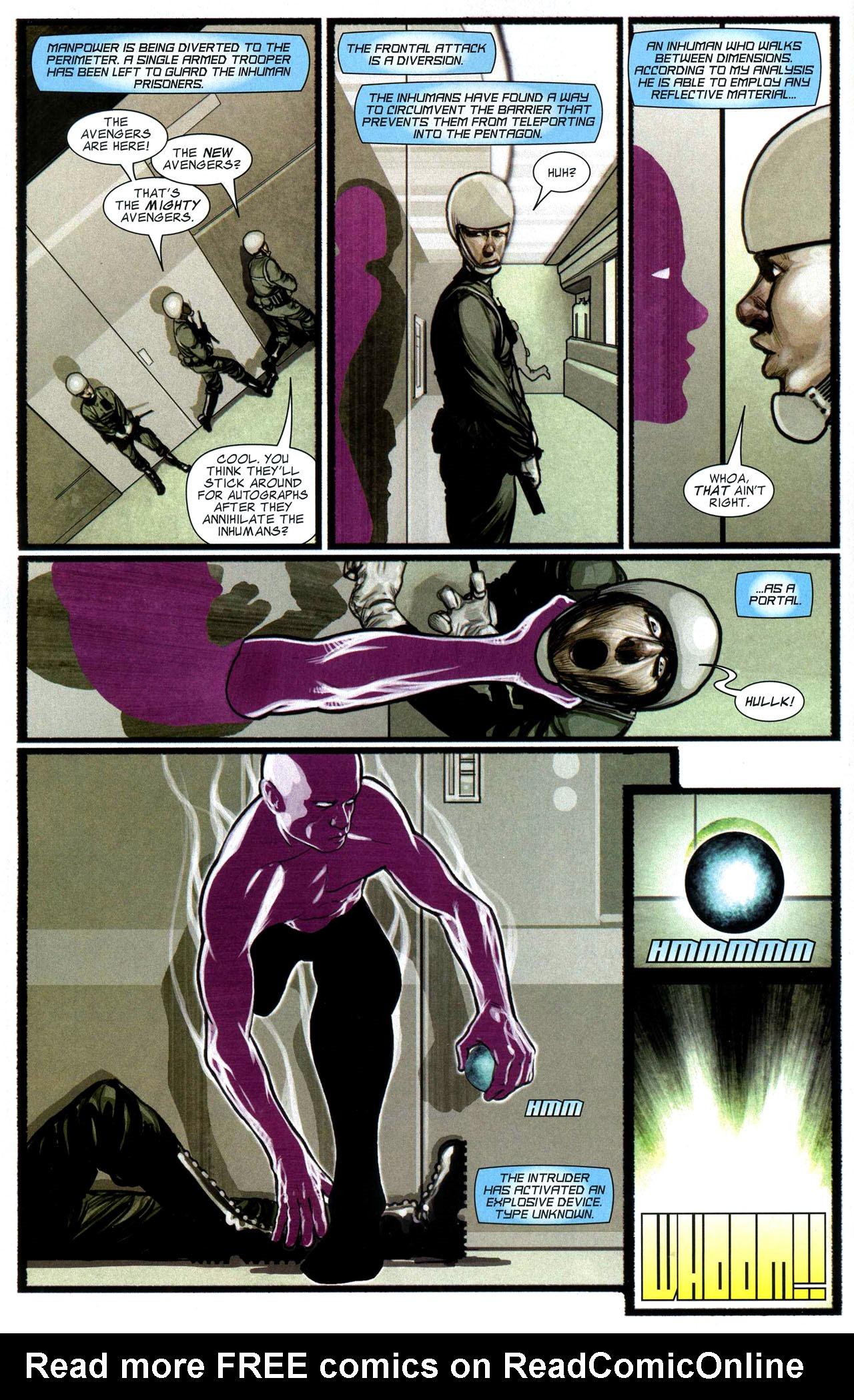 Read online Silent War comic -  Issue #5 - 6