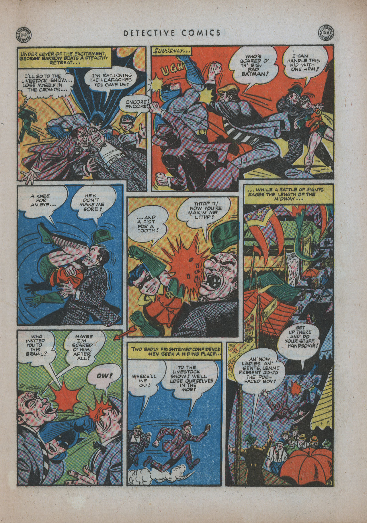 Read online Detective Comics (1937) comic -  Issue #94 - 11