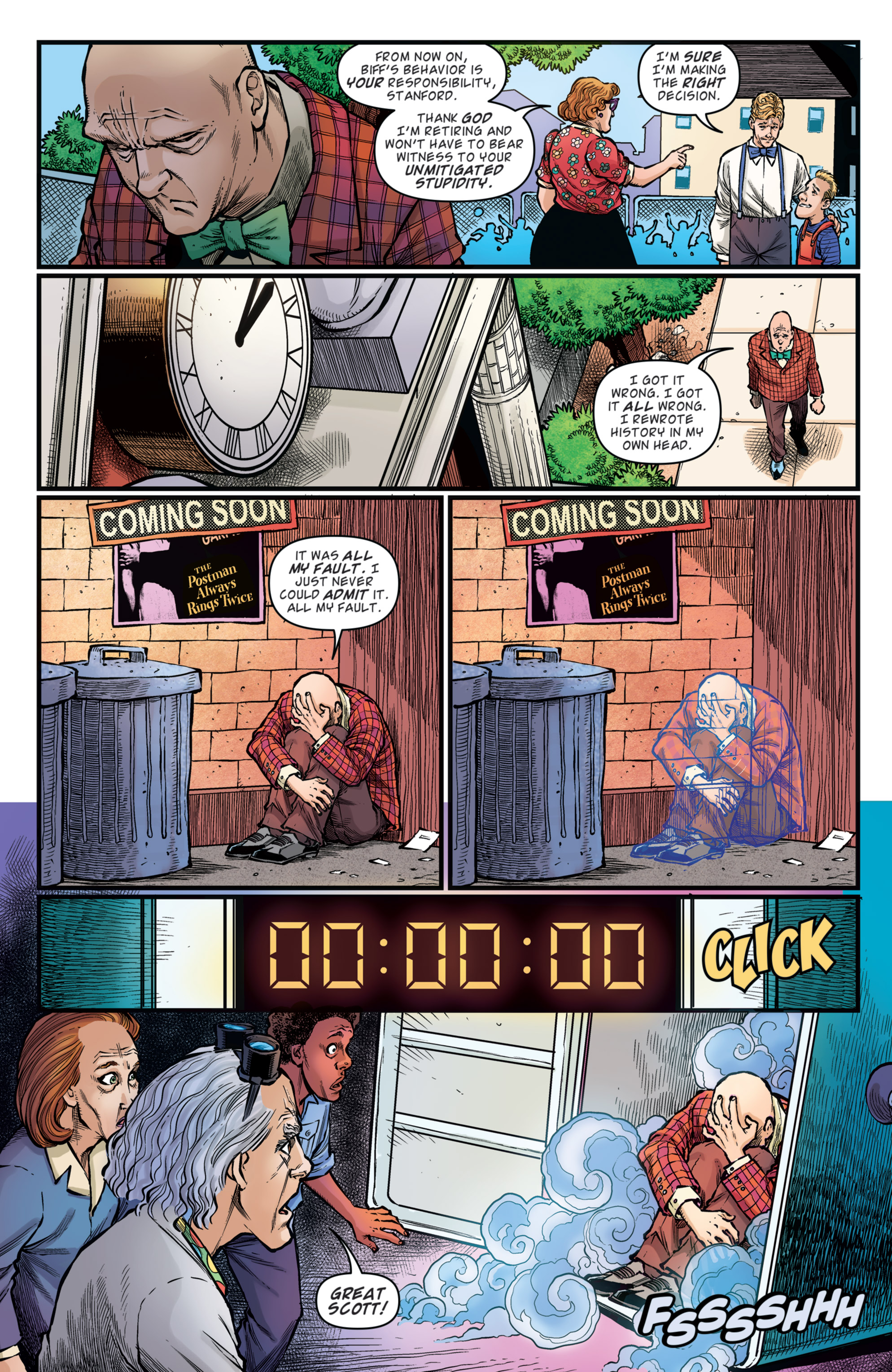 Read online Back to the Future: Biff to the Future comic -  Issue #5 - 11