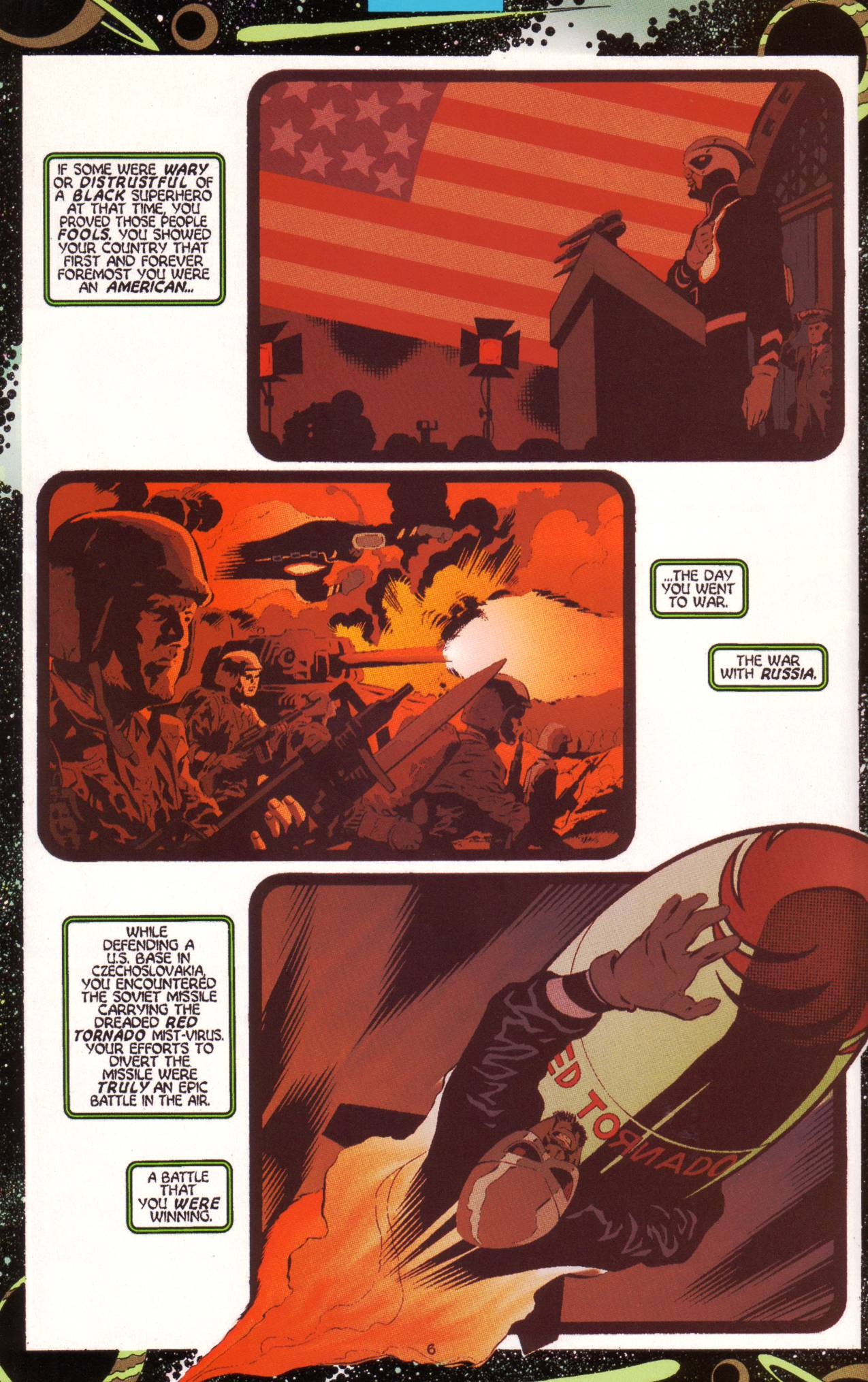 Read online Tangent Comics/ Green Lantern comic -  Issue # Full - 7
