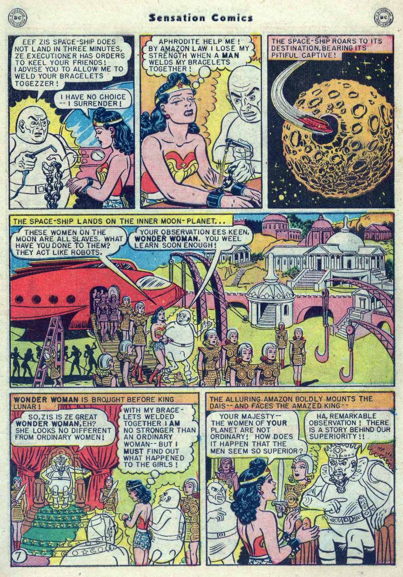 Read online Sensation (Mystery) Comics comic -  Issue #82 - 9