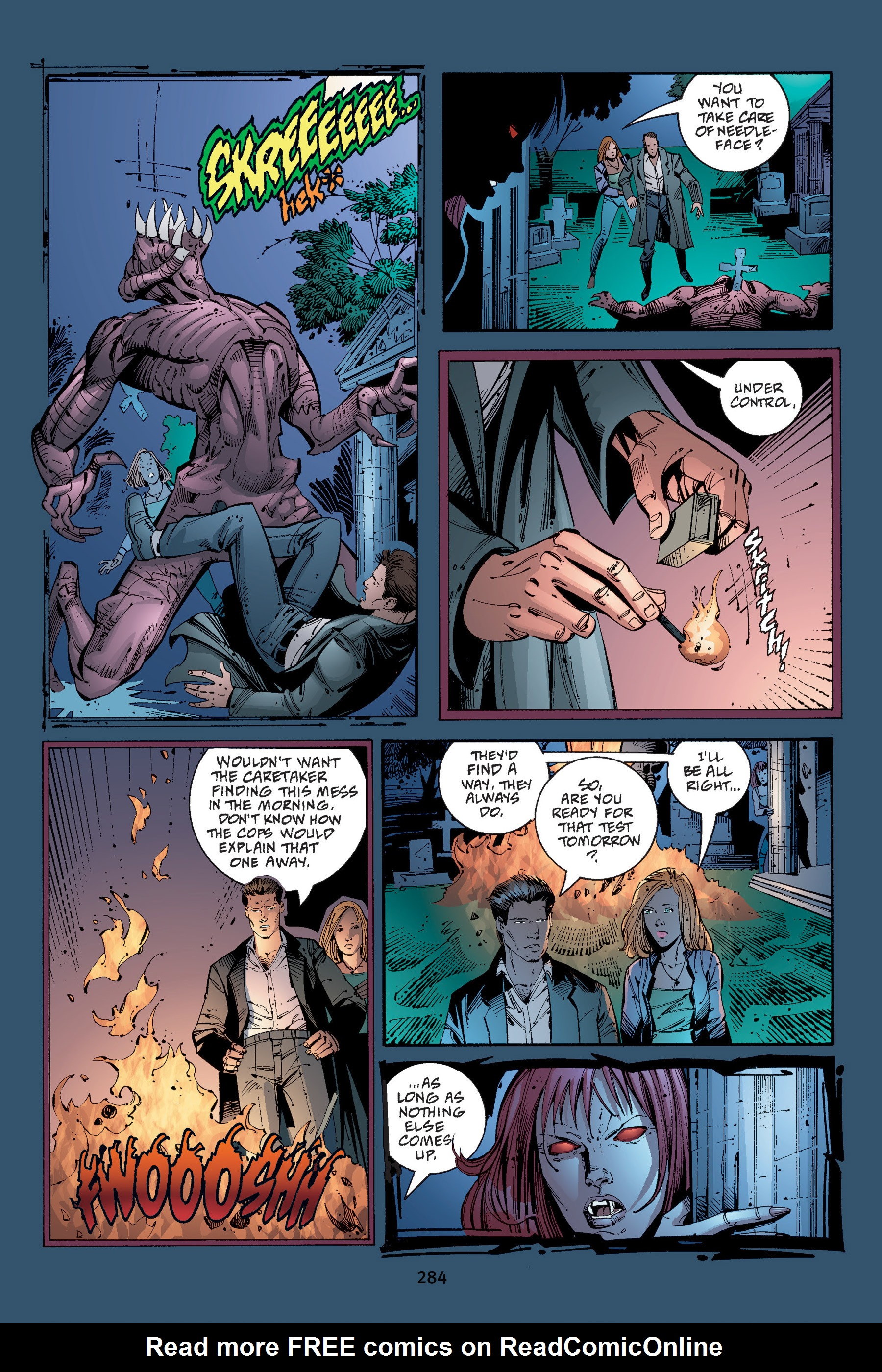 Read online Buffy the Vampire Slayer: Omnibus comic -  Issue # TPB 4 - 281