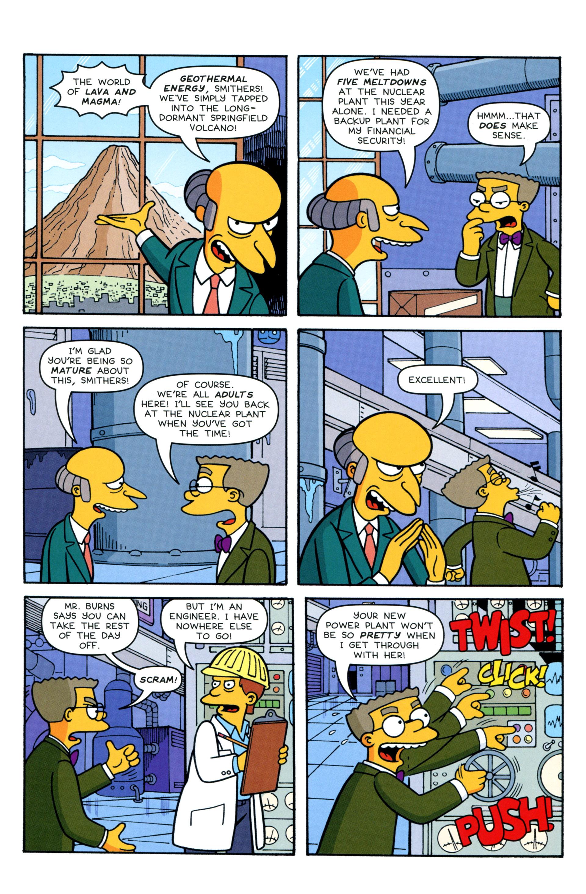 Read online Simpsons Comics comic -  Issue #206 - 7