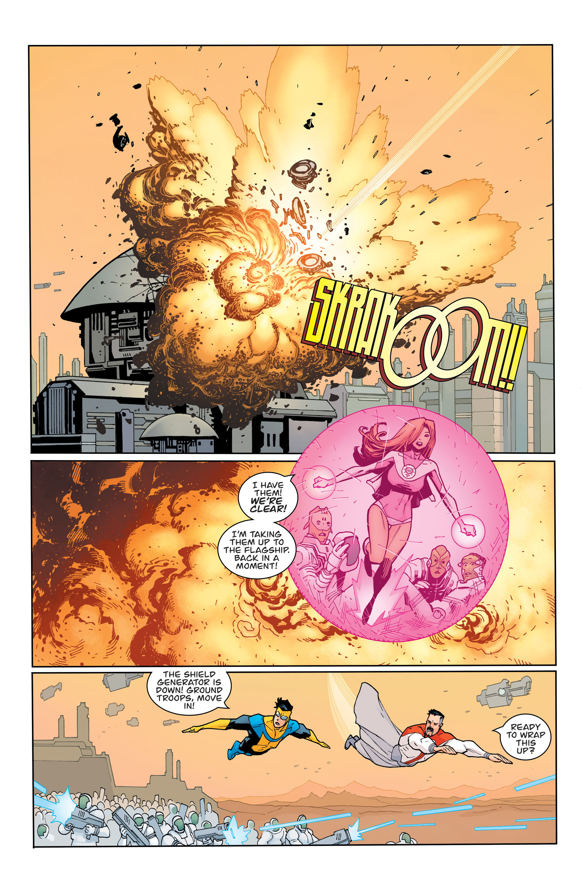 Read online Invincible comic -  Issue #135 - 6