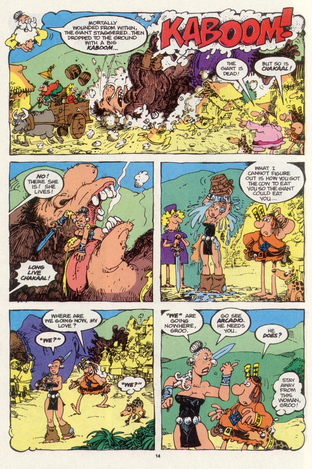 Read online Sergio Aragonés Groo the Wanderer comic -  Issue #98 - 15