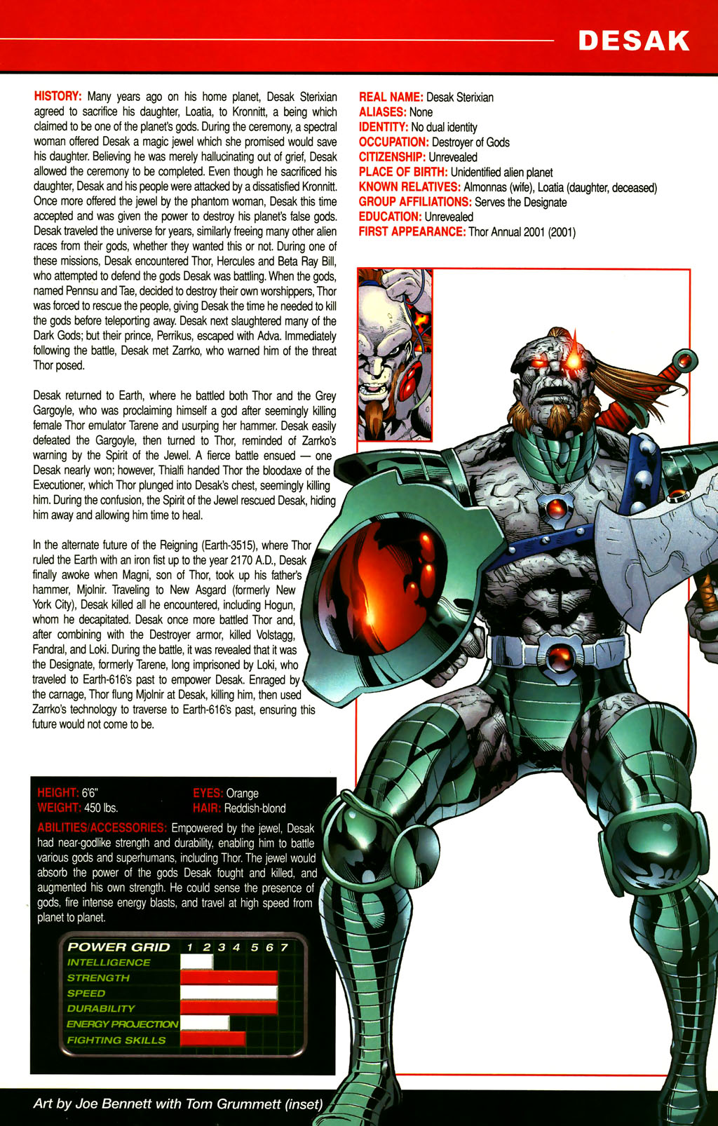 Read online All-New Official Handbook of the Marvel Universe A to Z comic -  Issue #3 - 41